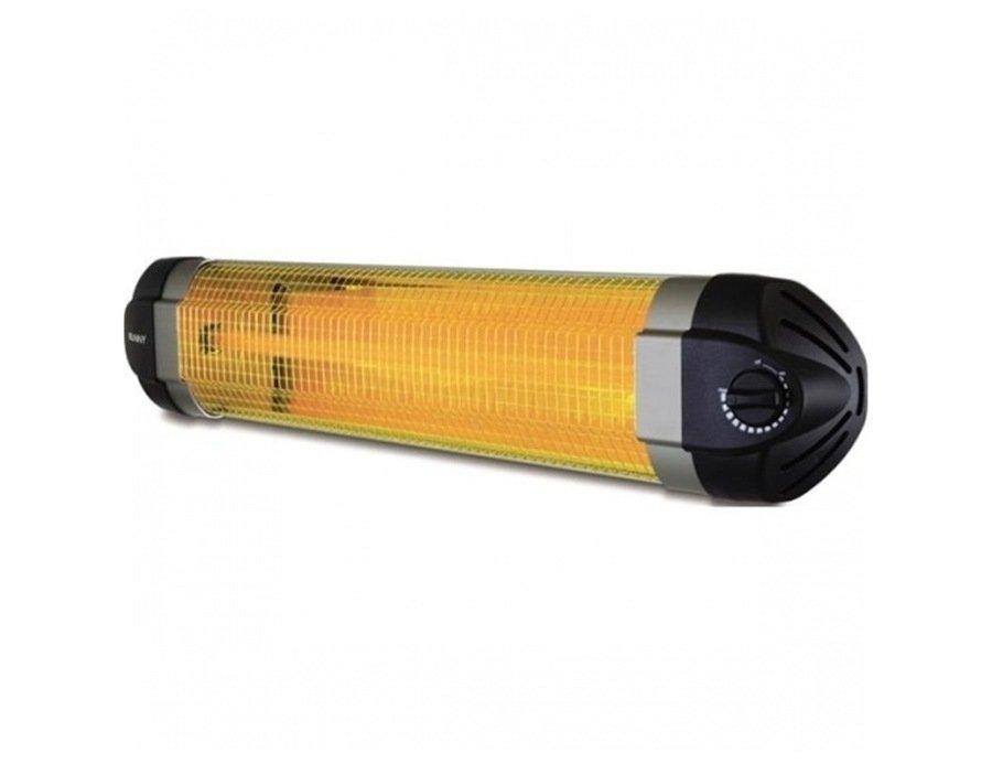 Инфракрасный обогреватель Sunny 26002 кВт<br>Инфракрасный обогреватель SUNNY 2600 предназначен для эксплуатации как в жилых, так и в нежилых помещениях, площадь которых до 26 кв.метров. Представленный прибор пользуется большой популярностью у потребителей, так как успешно справляется со своей задачей. Главное преимущества рассматриваемого прибора   это его эффективность, которая очень удачно сочетается с экономичностью. Такой тандем был достигнут благодаря инфракрасному излучению, которое, как известно, не только совершенно безвредно, но и более эффективно при обогреве, так как отдает тепловую энергию не в воздух, а находящимся в рабочей зоне предметам и людям.<br>Основные характеристики представленной модели:<br><br>обогрев с помощью ИК-обогревателя совершенно безвреден и экологически безопасен для здоровья человека.<br>управление осуществляется с помощью переключателя расположенного на лицевой стороне корпуса прибора.<br>благодаря кварцевому нагревательному элементу не сжигается кислород и воздушная взвесь, что, как правило приводит к головным болям и возникновению неприятного запаха гари.<br>максимально быстрый выход на рабочую мощность - достаточно 30 секунд.<br>заявленный ресурс нагревательного элемента - приблизительно 10000 часов.<br>также подойдет для обслуживания полуоткрытых и открытых пространств.<br>идеален в профилактике защиты от сырости и плесени.<br>инфракрасный обогреватель прост в монтаже.<br>в комплект входят скобы для крепления на стену.<br>два варианта установки: настенный либо на телескопической ножке.<br>датчик аварийного отключения: при падении отключается<br>аккуратный дизайн: корпус прибора заужен к краям..<br>минимальный уровень шума.<br><br> <br>Инфракрасные обогреватели Sunny зарекомендовали себя исключительно с лучшей стороны: приборы надежны и эффективны, экономичны и долговечны, просты в обслуживании и не вызывают проблем с эксплуатацией, а их универсальность установки позволяет разместить приборы в любом удобном месте. Кроме того, ди