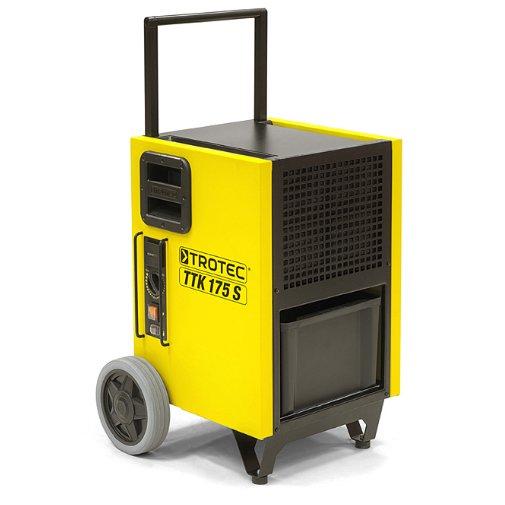 Осушитель воздуха TROTEC TTK 175 S50 литров<br>Осушитель воздуха из класса профессионального оборудования TROTEC TTK 175 S поможет вам избавиться от излишек влаги в самых разнообразных помещениях. Агрегат выполнен в прочном герметичном корпусе, имеет простое механическое управление, а конструкция характеризуется эргономичностью. Представленная модель может обеспечивать производительность до сорока литров в сутки.<br>Особенности и преимущества профессиональных установок для осушки воздуха TROTEC серии TTK-S:<br><br>Оптимально подходят для сушки воздуха для сменяемых мест эксплуатации даже в суровых условиях.<br>Разработка, дизайн, изготовление: 100 % Trotec.<br>Герметичная конструкция надежно защищает электронные приборы установки от вредных отложений.<br>Два паза осуществляют надежную и компактную укладку равных по размеру приборов TTK-S.<br>Высокая мощность осушки даже при низких температурах.<br>Максимальная защита различных электронных приборов от пыли и влаги.<br>Простая в обслуживании модель.<br>Оптимальные погрузочно-разгрузочные свойства.<br>Благодаря поршневому компрессору легко транспортируется в любом положении.<br>Отлично подходит для надежного и компактного хранения, транспортировки.<br>Компактная установка в комбинации с моделями равного размера.<br>Практичный немецкий дизайн &amp;ndash; безопасная промышленная модель.<br>Обладают отличной компактностью.<br><br>Опциональная комплектация:<br><br>Конденсатный насос, максимальная высота подачи 4 м.<br>Защитный колпачок.<br><br>Мощные и экономичные осушители воздуха серии TTK-S от торговой марки TROTEC выполнены в функциональном компактном дизайне и отлично подходят для решения даже сложных задач в экстремальных условиях. Среди преимуществ также стоит выделить легкий доступ к ключевым элементам агрегатов и простоту сервисного обслуживания. Все приборы серии оснащены передовой системой терморегуляции, что гарантирует эффективную работу.&amp;nbsp;<br><br>Страна: Германия<br>Производитель: Германия<br>Осушение