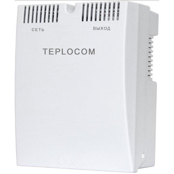 Стабилизатор сетевого напряжения Teplocom ST-888Стабилизаторы<br>Teplocom  ST-888   это стабилизатор сетевого напряжения для газовых настенных отопительных котлов. Мощность нагрузки представленной модели достигает 888 ВА. Устройство обеспечивает стабильное напряжение в диапазоне от 145 В до 260 В, а действует по вольтдобавочному принципу.<br>Особенности:<br><br>Мощность 888 ВА<br>Простое и быстрое подключение (не сложнее удлинителя)<br>Миниатюрные габариты<br>Защитное автоматическое отключение при аварии в сети<br>Разработан с учетом европейских норм электроснабжения<br>Большая перегрузочная мощность<br>Безопасный пластиковый корпус<br><br><br>Страна: Россия<br>Производитель: Россия<br>Дисплей: Нет<br>Вес, кг: 3<br>Гарантия: 5 лет