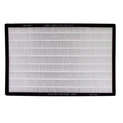 Фильтр Termica HCP-XS04 TCФильтры и аксессуары<br>Фильтр HCP-XS04 TC - аксессуар для воздухоочистителей серии Termica АР-300. В данном воздухоочистителе используется многоступенчатая очистка воздуха и НЕРА-фильтр это одна из его ступеней. Данный фильтр изготавливается из специального материала, который позволяет задерживать мельчайшие частицы   до 0,3 мкм. Приблизительный срок службы фильтра 1 год.<br><br>Страна: Китай<br>Площадь, кв.м.: None<br>Расход воздуха, куб.м/ч: None<br>Мощность, кВт: None<br>Шум, дБА: None<br>Вес, кг: 1<br>Габариты, мм: None<br>Гарантия: 1 год