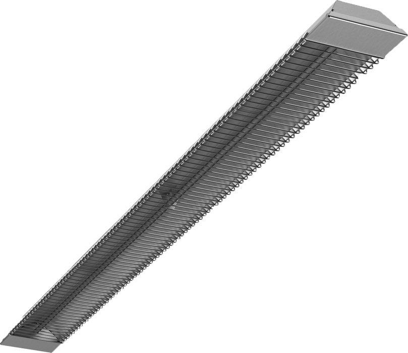 Инфракрасный обогреватель Termica RWO-1.52 кВт<br>Обогреватель инфракрасного типа Termica RWO-1.5   это мощный прибор, который может использоваться как для общего, для и для локального обогрева. Использование инфракрасных обогревателей совершенно безопасно, поэтому представленную модель можно эксплуатировать и в детских комнатах. Эксплуатация отличается удобством: угол наклона прибора можно менять в зависимости от требований пользователя, тем самым изменяя рабочую зону.<br>Преимущества инфракрасных обогревателей от компании Termica:<br><br>Корпус инфракрасного обогревателя изготовлен из металла, обладает высокой прочностью и надежностью.<br>Настенная установка.<br>Обогреватель обладает прочным металлическим корпусом.<br>Высокий КПД изделия обеспечивает толстый слой утеплителя (минеральное волокно) с отражающим слоем.<br>Степень защиты оболочки: IP20.<br>Класс электрозащиты: l класс.<br>Обогреватель применяется как основной или дополнительный обогрев, может выполнять общие и локальные задачи.<br>Системы инфракрасного обогрева могут комплектоваться системой управления с термостатами и каскадного подключения (опция).<br>Современный дизайн.<br>Совершенная безопасность использования.<br>Экономичный расход электрической энергии.<br>Комплекты крепления в комплекте.<br><br>Серия мощных инфракрасных обогревателей от всемирно известной компании Termica предназначена для направленного обогрева любых зон. Использовать приборы можно в павильонах, теплицах, ангарах, а также на отрытых пространствах. Их принцип действия похож на солнце: обогреватели инфракрасного типа нагревают не воздух, а находящиеся в рабочей зоне поверхности предметом. Благодаря этому приборы экономично потребляют электрическую энергию, при этом хорошо обогревая. Стоит отметить, что оборудование Termica   это настоящее немецкое качество, надежность и долговечность. Техника под этим брендом уже успела зарекомендовать себя исключительно с лучшей стороны.<br><br>Страна: Германия<br>Производитель: Китай<br>Мощност