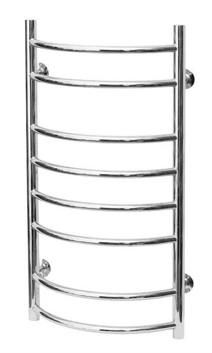 Водяной полотенцесушитель Terminus Форма 400x830Лесенка<br>Terminus (Терминус) Форма 400x830 представляет собой шикарную модель полотенцесушителя, выполненную в компактном корпусе в форме лесенки. Такое изделие идеально для установки, как в ванной комнате, так и на кухне. Пищевая сталь марки &amp;laquo;AISI 304L&amp;raquo; отполирована по новейшей технологии до зеркального блеска, что придает образу модели неповторимую привлекательность. &amp;nbsp;&amp;nbsp;&amp;nbsp;<br>Главные особенности рассматриваемой модели водяного полотенцесушителя от отечественного бренда TERMINUS:<br><br>Серия товаров &amp;laquo;Люкс&amp;raquo;.<br>Эксклюзивный дизайн и превосходное качество.<br>Разработан для сушки изделий из текстиля.<br>Абсолютная безопасность эксплуатации.<br>Технология нового поколения методом лазерной сварки &amp;ndash; особая прочность сварного шва.<br>Для полировки поверхности используется самое современное оборудование европейского производства, что позволяет добиваться зеркального качества поверхности (12 класс чистоты).<br>Собственная запатентованная технология IRON CONNECT позволяет изготавливать полотенцесушители уникального дизайна методом контактно-рельефной сварки.<br>В производстве применяются трубы, толщина стенок которых составляет не менее 2-х мм, что гарантирует десятикратный запас прочности, защиту от коррозии и устойчивость к резким перепадам давления в системе ГВС.<br>Минимальный срок службы изделий составляет 30 лет.<br>10 лет гарантии от производителя.<br>Обратите внимание: фитинги в комплекте не идут.<br><br>Полотенцесушители &amp;laquo;Форма&amp;raquo; от Terminus &amp;ndash; это две невероятно стильные и элегантные модели, которые идеальны для просушки любых текстильных изделий и комфортного обогрева помещения небольшого объема. Модели изготовлены из качественных прочных материалов, работа осуществляется от системы отопления или ГВС, где максимальная температура воды не превышает 110 градусов.&amp;nbsp;<br><br>Страна: Россия<br>Производитель: Р