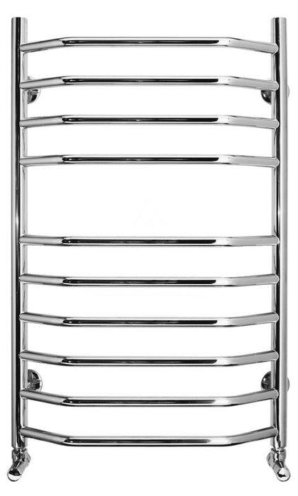 Водяной полотенцесушитель Terminus Классик Люкс 500x1130Лесенка<br>Стильный полотенцесушитель водяного типа Terminus (Терминус) Классик люкс 500x1130 идеально впишется в интерьер ванной комнаты от классического стиля до стиля хай тек. Модель выполнена из качественной нержавеющей стали, поверхность которой отполирована таким образом, что устройство имеет роскошный зеркальный блеск. Модель отличается высокой производительностью. С таким полотенцесушителем в вашей ванной комнате всегда будет тепло и уютно.<br>Главные особенности рассматриваемой модели водяного полотенцесушителя от отечественного бренда TERMINUS:<br><br>Серия товаров &amp;laquo;Люкс&amp;raquo;.<br>Эксклюзивный дизайн и превосходное качество.<br>Разработан для сушки изделий из текстиля.<br>Абсолютная безопасность эксплуатации.<br>Технология нового поколения методом лазерной сварки &amp;ndash; особая прочность сварного шва.<br>Для полировки поверхности используется самое современное оборудование европейского производства, что позволяет добиваться зеркального качества поверхности (12 класс чистоты).<br>Собственная запатентованная технология IRON CONNECT позволяет изготавливать полотенцесушители уникального дизайна методом контактно-рельефной сварки.<br>В производстве применяются трубы, толщина стенок которых составляет не менее 2-х мм, что гарантирует десятикратный запас прочности, защиту от коррозии и устойчивость к резким перепадам давления в системе ГВС.<br>Минимальный срок службы изделий составляет 30 лет.<br>10 лет гарантии от производителя.<br>Обратите внимание: фитинги в комплекте не идут.<br><br>Название серии водяных полотенцесушителей Terminus Классик Люкс говорит само за себя: изделия исполнены в традиционном дизайне в форме лесенки. Семейство представлено моделями различные высоты, межосевое расстояние поперечных одинакова для всех и составляет 500 миллиметров. В качестве теплоносителя используется горячая вода от систем ГВС или отопления, максимальная температура которой не должна превышать 11
