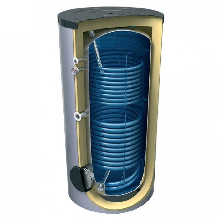 Бойлер косвенного нагрева Tesy EV 7/5 S2 200 60200 литров<br>Tesy EV 7/5 S2 200 60 представляет собой модель бойлера косвенного обмена, оборудованного двумя змеевиками, обеспечивающими соединение агрегата с центральной или иного вида отопительной установкой. Стальной резервуар рассчитан на 200 литров. Оборудование надежно защищено от коррозии и перегрева. Бойлер подходит для жилых и нежилых помещений.<br>Особенности и преимущества:<br><br>Два змеевика<br>Эмалированный стальной бак<br>Высокоэффективная CFC FREE 50 mm пенополиуретановая изоляция<br>Анодная защита<br>Внешний термоиндикатор<br>Предохранительный клапан<br>Гильзы для установки термосенсора<br>Вход для рециркуляции<br>Доступ к резервуару для воды сквозь большой, легко съемный фланец<br>PVC кожух<br>Возможность  установки эл. нагревателя<br><br>Бойлеры от TESY позволят современному потребителю организовать систему горячего водоснабжения в жилых или коммерческих помещениях. Водогрейное оборудование от данной производственной компании может обеспечивать эффективную работу в бытовых условиях с водой любой жесткости. Производителем была предусмотрена эффективная теплоизоляция и защита от накипи.<br><br>Страна: Болгария<br>Объем, л: 200<br>Мощность ТЭНа, кВт: None<br>Мощность теплообменника, кВт: None<br>Установка: Напольная<br>Покрытие бака: Эмаль<br>Емкость теплообменника: 4,6+3,3<br>Подключение горячей воды, дюйм: 1<br>Max темп. нагрева, С: 95<br>Габариты ВхШхГ,мм: 1200x600x600<br>Вес, кг: 70<br>Гарантия: 5 лет<br>Ширина мм: 600<br>Высота мм: 1200<br>Глубина мм: 600