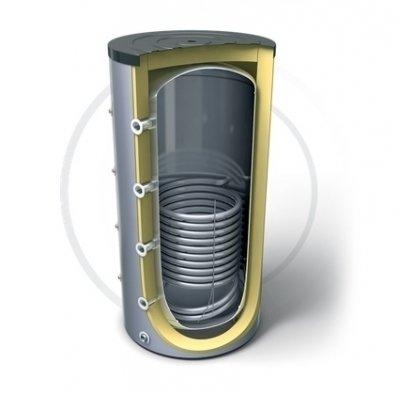 Бойлер косвенного нагрева Tesy V 15S 500 75 F42 P5500 литров<br>    Болгарская компания Tesy представляет вашему вниманию буферную емкость для накопительного водонагревателя   V 15S 500 75 F42 P5. Рассматриваемая модель представляет собой вместительный бак, объемом в 500 литров, который надежно защищен слоем пенополиуретановой изоляции, а для защиты от коррозии в него интегрирован магниевый анод. Встроенный теплообменник максимально увеличивает эффективность работы водонагревателя, ускоряя процесс нагрева воды и увеличивая срок ее остывания. Стоит отметить, что обслуживание прибора достаточно просто, что делает устройство максимально комфортным в использовании.<br>Основные характеристики представленной модели буферной емкости:<br><br>Встроенный теплообменник.<br>Резервуар изготовлен из стали высокого качества без какого-либо покрытия.<br>Вертикальное исполнение с напольным вариантом установки.<br>Высокоэффективная CFC FREE пенополиуретановая изоляция, толщиной 50 мм.<br>Наружный индикатор температуры.<br>Эргономичный дизайн.<br>Кожух, выполненный из поливинилхлорида.<br>Вход для рециркуляции.<br>Удобный клапан для доступа к внутренним составляющим водонагревателя.<br>4 кармана для установки термосенсоров.<br>Нержавеющий электрический нагревательный элемент.<br>4 + 5 Вход / Выход.<br>Магниевый анодный протектор.<br>Специальный выход для слива воды из резервуара.<br><br>    Линейка буферных емкостей, с одним встроенным теплообменником, для накопительных электрических водонагревателей Profi Line от торговой марки Tesy представляют наиболее удачное соотношение доступной стоимости и высокого качества. Все модели серии имеют надежную теплоизоляцию, благодаря чему возможные потери тепловой энергии сведены к минимуму. Стальные емкости защищены при помощи сменного магниевого анода. Для удобства эксплуатации в линейке реализована возможность сливать воду при помощи специального выхода и заменять внутренние составляющие при помощи специального клапана.<br><br>Страна: Болгария<