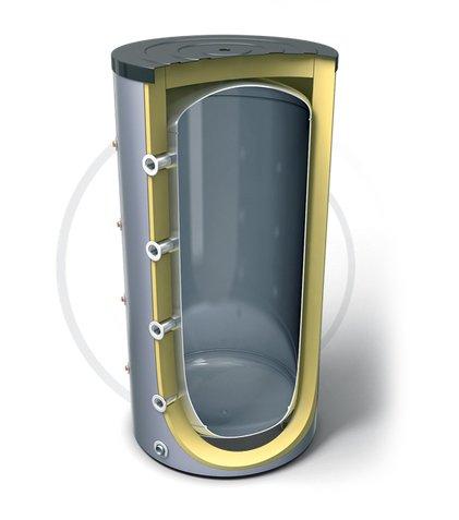 Бойлер косвенного нагрева Tesy V 500 75 F42 P4500 литров<br>    V 500 75 F42 P4 от Tesy   это буферная емкость большого объема для накопительных электрических водонагревателей. Данная модель отличается высокой эффективностью, которая достигнута благодаря хорошей теплоизоляции и высокому качеству материалов изготовления. Вертикальный напольный вариант исполнения и современный дизайн позволит разместить устройство в любом подходящем месте. Большой объем емкости дает возможность использовать водонагреватель не только в частных домах, но и на небольших производствах, где необходимо обеспечить автономное горячее водоснабжение.<br>Основные характеристики представленной модели буферной емкости:<br><br>Резервуар изготовлен из стали высокого качества без какого-либо покрытия.<br>Вертикальное исполнение с напольным вариантом установки.<br>Высокоэффективная CFC FREE пенополиуретановая изоляция, толщиной 50 мм.<br>Наружный индикатор температуры.<br>Эргономичный дизайн.<br>Кожух, выполненный из поливинилхлорида.<br>Вход для рециркуляции.<br>Удобный клапан для доступа к внутренним составляющим водонагревателя.<br>4 кармана для установки термосенсоров.<br>Нержавеющий электрический нагревательный элемент.<br>4 + 5 Вход / Выход.<br>Магниевый анодный протектор.<br>Специальный выход для слива воды из резервуара.<br><br><br>    Серия буферных емкостей, без теплообменника, для накопительных электрических водонагревателей Profi Line от торговой марки Tesy представляют наиболее удачное соотношение доступной стоимости и высокого качества. Все модели серии имеют надежную теплоизоляцию, благодаря чему возможные потери тепловой энергии сведены к минимуму. Стальные емкости защищены при помощи сменного магниевого анода. Для удобства эксплуатации в линейке реализована возможность сливать воду при помощи специального выхода и заменять внутренние составляющие при помощи специального клапана.<br><br>Страна: Болгария<br>Объем, л: 500<br>Мощность ТЭНа, кВт: None<br>Установка: Напольная<br>Покрытие ба