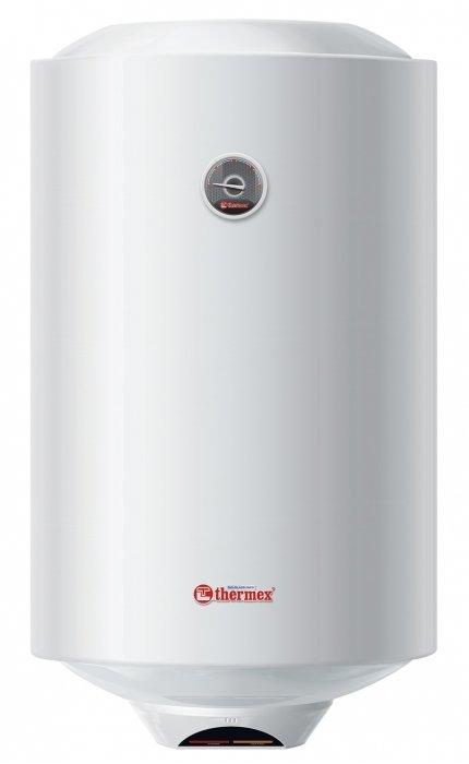 Электрический накопительный водонагреватель Thermex80 литров<br>Электрический водонагреватель Thermex  (Термекс) ERS 80 V Silverheat накопительного типа отличается высокой производительностью, высоким уровнем безопасности и долгим сроком эксплуатации. Прибор оснащен надежным нагревательным элементом, который выполнен из серебра. На передней стенке водонагревателя расположен термометр, защищенный небьющейся крышкой.<br>Основные характеристики представленной модели:<br><br>Серия Champion - баки классической круглой формы;<br>Водонагреватели большого объема покрыты эпоксидной эмалью (корпус);<br>Малолитражные водонагреватели (объемом до30 л) выполнены из ABS-пластика (корпус);<br>Внутренний бак из биостеклофарфора;<br>Серебряный нагревательный элемент;<br>Антибактериальные свойства ТЭНа;<br>Быстрый нагрев воды   мощность ТЭНа 1500 Вт;<br>Капиллярный термостат безопасности;<br>Наружный терморегулятор;<br>Термометр с небьющейся крышкой из ABS пластика;<br>Используется технология нанесения покрытия   BIO-Glasslined;<br>Уникальная технология Thermex нанесения покрытия внутреннего бака (покрытие внутренней поверхности биостеклофарфором);<br>Собственная технология Thermex по проверке качества внутреннего покрытия;<br>Защита от коррозии   магниевый анод увеличенной массы;<br>Защита от быстрого остывания воды   теплоизоляция из пенополиуретана высокой плотности;<br>Высокий уровень безопасности   5 ступеней;<br>Наличие предохранительного клапана в комплекте.<br><br>     Thermex   это ведущий европейский специализированный производитель водонагревательного оборудования. Компания существует уже более 60 лет. На данный момент Thermex выпускает 2 миллиона водонагревателей в год и получил признание в 160 странах мира. Водонагреватели Thermex   это гарантия качества и надежной работы. <br><br><br>Страна: Россия<br>Производитель: Россия<br>Способ нагрева: Электрический<br>Нагревательный элемент: Трубчатый<br>Объем, л: 80<br>Темп. нагрева, С: +75<br>Мощность, кВт: 1.5<br>Напряжение сет
