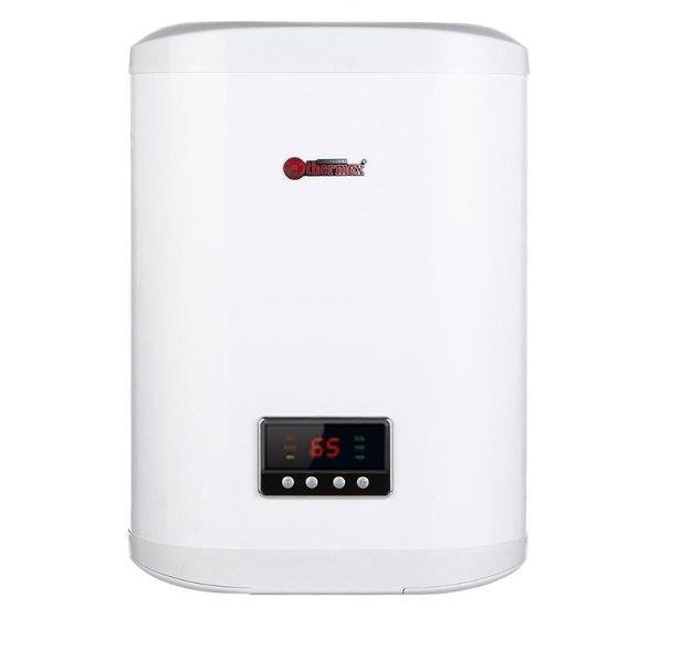 Водонагреватель для квартиры Thermex FSS 30V30 литров<br>Thermex (Термекс) FSS 30V   это надежная модель электрического накопительного водонагревателя для квартиры, потребляющая незначительное количество энергии и позволяющая современному пользователю в промышленных или бытовых условиях организовать эффективное приготовление горячей воды.  Бак на 30 литров   оптимальный выбор для кухни или в ванную. Класс защиты устройства   IPX4, внутренний бак выполнен из нержавеющей стали.<br><br>Страна: Россия<br>Производитель: Россия<br>Способ нагрева: Электрический<br>Нагревательный элемент: Трубчатый<br>Объем, л: 30<br>Темп. нагрева, С: +75<br>Мощность, кВт: 2,0<br>Напряжение сети, В: 220 В<br>Плоский бак: Да<br>Узкий бак Slim: Нет<br>Магниевый анод: Да<br>Колво ТЭНов: 1<br>Дисплей: Да<br>Сухой ТЭН: Нет<br>Защита от перегрева: Есть<br>Покрытие бака: Нерж. сталь<br>Тип установки: Вертикальная<br>Подводка: Нижняя<br>Управление: Электронное<br>Размеры ШхВхГ, см: 46,4x66,3x26,8<br>Вес, кг: 14<br>Гарантия: 1 год<br>Ширина мм: 464<br>Высота мм: 663<br>Глубина мм: 268