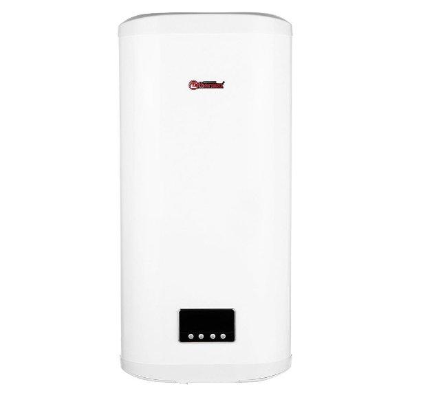 Водонагреватель Thermex FSS 80V80 литров<br>Накопительный электрический водонагреватель Thermex (Термекс) FSS 80V &amp;mdash; это отличная возможность обеспечить в собственной квартире или индивидуальном доме бесперебойное приготовление горячей воды и ее хранение. Внутренний бак из высококачественной нержавеющей стали позволяет защитить конструкцию устройства от коррозии и дальнейших, связанных с этим разрушений.<br>Особенности представленной модели электрического накопительного водонагревателя от российского бренда Thermex:<br><br>Тип оборудования: накопительный<br>Способ нагрева электрический<br>Нагревательный элемент трубчатый (1 или 2 в зависимости от модели)<br>Способ подачи воды напорный<br>Номинальная мощность 2.0 кВт<br>Напряжение сети 220 В<br>Комфорт в эксплуатации<br>Управление электронное<br>Четыре режима нагрева: Single, Double, ECO и No Frost.<br>Режимы Single и Double позволяют выбрать стандартный или повышенный уровень нагрева.<br>Режим ECO автоматически поддерживает температуру горячей воды в диапазоне от +60&amp;deg;C до +67&amp;deg;C, что обеспечивает экономию электроэнергии до 25% по сравнению с обычными режимами нагрева.<br>Режим No Frost поддерживает температуру воды в диапазоне от +5&amp;deg;C до +8&amp;deg;C, что позволяет при минимальных затратах электроэнергии исключить вероятность замерзания воды в баке в зимний период.<br>Абсолютная безопасность<br>Многоступенчатая система безопасности<br>Установка вертикальная, нижняя подводка, способ крепления: настенный<br>Минимальный срок службы &amp;ndash; 9 лет<br>Гарантия на накопительную емкость &amp;ndash; 7 лет<br><br>Thermex FLAT SMART ENERGY &amp;ndash; это новая серия накопительных водонагревателей от популярного отечественного производителя. Все приборы исполнены в настенном корпусе с плоской геометрией бака в стильном дизайне. Конструкцией изделий предусмотрен один или два эффективных нагревательных элемента, для гарантированной защиты от коррозии внутренней поверхности стального бака имеет