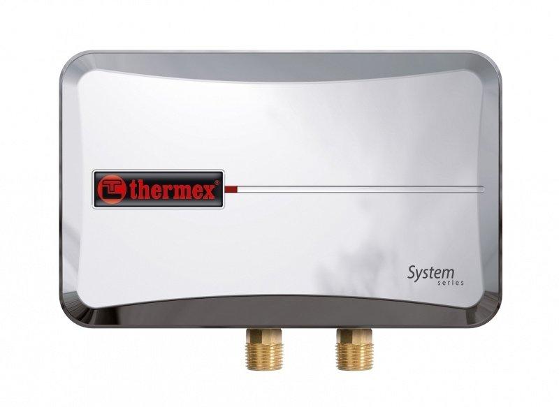Водонагреватель Thermex System 600 Chrome6 кВт<br>Thermex System 600 Chrome – это настенный электрический водонагреватель проточного типа, который успешно справляется со своей задачей, снабжая горячей водой дом или квартиру в любом количестве в любое время. Представленная модель экономична, защищена от накипи и коррозии и оснащена эффективной теплоизоляцией, которая минимизирует тепловые потери.<br><br>Основные преимущества представленной модели:<br><br>предотвращение образования накипи;<br>минимизация тепловых потерь;<br>надежность составляющих элементов;<br>теплоизоляция из экологически чистого материала;<br>защита от замерзания;<br>защита от перегрева;<br>встроенный терморегулятор;<br>комплексная защита от коррозии;<br>высокий уровень безопасности;<br>широкий температурный диапазон;<br>клапан для слива воды;<br>универсальность в установке;<br>автоматическая регулировка температуры;<br>непрерывность работы;<br>высокая производительность;<br>компактность;<br>современный дизайн;<br>гарантия качества и надежной работы.<br><br><br>Семейство водонагревателей Thermex Systemобладает небольшими размерами и весом, и, что немаловажно, не перегружает электросеть. Кроме того, оборудование выполнено в современном стильном дизайне, который удачно впишется в любое окружение.<br><br>Страна: Россия<br>Производитель: Россия<br>Темп. нагрева, С: +75<br>Способ нагрева: электрический<br>Производительность: 5 л/мин.<br>Мощность, кВт: 6<br>Защита от перегрева: есть<br>LCD дисплей: нет<br>Управление: механическая<br>Тип установки: Вертикальная<br>Подводка: Нижняя<br>Комплектация: Нет<br>Тип подачи: Напорный<br>Напряжение сети, В: 220 В<br>Габариты ШхВхГ, см: 27x17x9,5<br>Вес, кг: 2<br>Гарантия: 2 года<br>Ширина мм: 270<br>Высота мм: 170<br>Глубина мм: 95