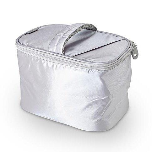 Сумка-термос Thermos Beauty kit - SilverСумки-холодильники<br>Максимально удобная в повседневной жизни изометрическая сумка-термос с молнией Thermos (Термос) Beauty kit - Silver очень вместительная, что по достоинству оценит большинство современных потребителей. Помимо своих пользовательских и эксплуатационных качеств, данная модель выделяется современным дизайнерским решением &amp;ndash; оно простое и при этом достаточно лаконичное. &amp;nbsp;&amp;nbsp;<br>Основные достоинства рассматриваемой модели сумки-термоса от Thermos:<br><br>Сделано в виде удобной сумки-косметички.<br>Прочный материал изготовления.<br>Внутреннее термоотталкивающее покрытие.<br>Идеальна для хранения косметики, кремов или лекарств.<br>Удобно переносить и хранить.<br>Компактные размеры, небольшой вес.<br>Высокая степень износоустойчивости.<br><br>Сумки-термосы от торговой марки Thermos станут для вас отличными спутницами в путешествии или на пикнике, где они просто незаменимы благодаря своим эксплуатационным свойствам и пользовательским характеристикам. Данные аксессуары помимо того, что имеют большое количество дополнительных отделений, карманов для всяких мелочей и косметичку, при хранении удобно складываются.&amp;nbsp;<br><br>Страна: Великобритания<br>Объем, л: 3.5<br>Мощность, Вт: None<br>Питание, В: Нет<br>Темп. max, С: None<br>Темп. min, С: None<br>Габариты ВxШxД, мм: 170x230x160<br>Вес, кг: 1<br>Гарантия: 1 год<br>Кабель питания: Нет<br>Назначение: Сумкатермос
