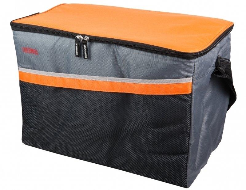 Сумка-холодильник Thermos Classic 48 Can CoolerСумки-холодильники<br>Thermos Classic 48 Can Cooler &amp;ndash; это эргономичная современная сумка-термос со спортивным дизайном, исполненная из высококачественных и экологичных материалов, отличающихся устойчивостью к разным внешним воздействиям. Представленный аксессуар позволит наслаждаться прохладными напитками на вечеринке под открытым небом, а также дольше сохранит свойства продуктов в путешествии.<br>Особенности и преимущества сумок-термосов представленной серии от компании Thermos:<br><br>Изолирующий слой Isotec от Thermos позволяет сохранять свежесть и температуру продуктов.<br>Внешняя ткань из нейлона устойчива к загрязнениям и легка в уходе, внутренняя поверхность гигиенична и непромокаема.<br>Застежка молния создает необходимые условия для изоляции.<br>Прочные ручки по длине оптимальны для переноски на плече<br>Устойчивое дно сумки выполнено из материала, защищающего от пачкающих поверхностей.<br>Удобная молния для быстрого доступа.<br>Дополнительный внешний карман для аксессуаров.<br><br>Торговая марка Thermos представила российскому рынку удобные и функциональные сумки-термосы, которые станут отличным приобретением для тех, кто любит пикники или долгие прогулки, а также вынужден долгое время проводить в дороге. Сумка-термос прекрасно сохраняет температуру напитков и блюд, а если использовать аккумуляторы холода, то такой аксессуар сможет целые сутки работать в качестве портативного холодильника. Семейство сумок-термосов от бренда Thermos весьма разнообразно: на страницах нашего онлайн-каталога посетители найдут изделия не только различных цветовых решений, но также и конструкций, и объемов.<br><br>Страна: Великобритания<br>Объем, л: 33<br>Мощность, Вт: None<br>Питание, В: Нет<br>Темп. max, С: None<br>Темп. min, С: None<br>Габариты ВxШxД, мм: 305x432х240<br>Вес, кг: 1<br>Гарантия: 6 месяцев<br>Кабель питания: Нет<br>Назначение: Сумкатермос