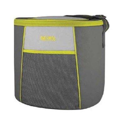 Сумка-холодильник Thermos E5 24 Can Cooler - LimeСумки-холодильники<br>Изящная сумка-термос Thermos (Термос) E5 24 Can Cooler   Lime выполнена в современном дизайне, который сразу приглянулся пользователям. Яркие полосы создают отличный контраст с сдержанным серым цветом. Бесшовное изделие легко моется и не теряет исходного внешнего вида долгое время. Термоизоляционный слой позволяет сохранять свежесть продуктов сроком до 12 часов.<br>Основные достоинства рассматриваемой модели сумки-термоса от Thermos:<br><br>Изолирующий слой позволяет сохранять свежесть и температуру продуктов.<br>Внешняя ткань устойчива к загрязнениям и легка в уходе, внутренняя поверхность гигиенична и непромокаема.<br>Застежка молния создает необходимые условия для изоляции.<br>Прочные ручки.<br>Устойчивое дно сумки выполнено из материала, защищающего от пачкающих поверхностей.<br>Удобная молния для быстрого доступа.<br><br>Сумки-термосы от торговой марки Thermos станут для вас отличными спутницами в путешествии или на пикнике, где они просто незаменимы благодаря своим эксплуатационным свойствам и пользовательским характеристикам. Данные аксессуары помимо того, что имеют большое количество дополнительных отделений, карманов для всяких мелочей и косметичку, при хранении удобно складываются.<br><br>Страна: Великобритания<br>Объем, л: 24<br>Мощность, Вт: Нет<br>Питание, В: Нет<br>Темп. max, С: None<br>Темп. min, С: None<br>Габариты ВxШxД, мм: 292x230x280<br>Вес, кг: 1<br>Гарантия: 6 месяцев<br>Кабель питания: Нет<br>Назначение: Сумкахолодильник