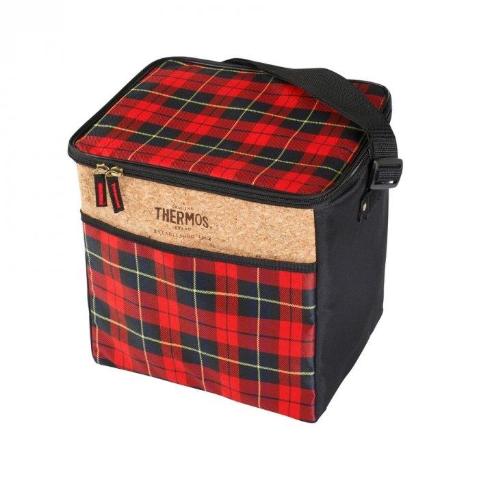 Сумка-холодильник Thermos Heritage 24 Can Cooler RedСумки-холодильники<br>Вместительная сумка-термос Thermos (Термос) Heritage 24 Can Cooler Red окажется незаменимым приспособлением во время активного отдыха на природе. Благодаря удобному верхнему карману, который легко откидывается, пользователь быстро может получить доступ ко всей термоемкости. Изделие выполнено в ярких цветах, поэтому становится настоящим украшением во время пикника.<br>Основные достоинства рассматриваемой модели сумки-термоса от Thermos:<br><br>Изолирующий слой позволяет сохранять свежесть и температуру продуктов.<br>Внешняя ткань устойчива к загрязнениям и легка в уходе, внутренняя поверхность гигиенична и непромокаема.<br>Застежка молния создает необходимые условия для изоляции.<br>Прочные ручки.<br>Устойчивое дно сумки выполнено из материала, защищающего от пачкающих поверхностей.<br>Удобная молния для быстрого доступа.<br><br>Сумки-термосы от торговой марки Thermos станут для вас отличными спутницами в путешествии или на пикнике, где они просто незаменимы благодаря своим эксплуатационным свойствам и пользовательским характеристикам. Данные аксессуары помимо того, что имеют большое количество дополнительных отделений, карманов для всяких мелочей и косметичку, при хранении удобно складываются.<br><br>Страна: Великобритания<br>Объем, л: 24<br>Мощность, Вт: Нет<br>Питание, В: Нет<br>Темп. max, С: None<br>Темп. min, С: None<br>Габариты ВxШxД, мм: 280х215х255<br>Вес, кг: 1<br>Гарантия: 6 месяцев<br>Кабель питания: Нет<br>Назначение: Сумкахолодильник