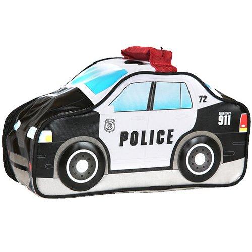 Сумка-термос Thermos Police Car NoveltyСумки-холодильники<br>Потрясающая, очень вместительная и эргономичная термо-сумка Thermos (Термос) Police Car Novelty имеет весьма оригинальное дизайнерское решение и выполнена в форме полицейской машины с декоративными нашивками соответствующего характера (к тому же, колеса крутятся как настоящие). Такое изделие удивит и порадует не только маленьких членов семьи, но и самих взрослых. Используется износостойкая современная ткань. &amp;nbsp;&amp;nbsp;&amp;nbsp;&amp;nbsp;<br>Основные достоинства рассматриваемой модели сумки-термоса от Thermos:<br><br>Невероятно стильный и забавный детский дизайн.<br>Прочный материал изготовления.<br>Внутреннее термоотталкивающее покрытие.<br>Идеальна для хранения продуктов питания для детей.<br>Удобно переносить и хранить.<br>Компактные размеры, небольшой вес.<br>Высокая степень износоустойчивости.<br><br>Сумки-термосы от торговой марки Thermos станут для вас отличными спутницами в путешествии или на пикнике, где они просто незаменимы благодаря своим эксплуатационным свойствам и пользовательским характеристикам. Данные аксессуары помимо того, что имеют большое количество дополнительных отделений, карманов для всяких мелочей и косметичку, при хранении удобно складываются.&amp;nbsp;<br><br>Страна: Великобритания<br>Объем, л: 4.5<br>Мощность, Вт: None<br>Питание, В: Нет<br>Темп. max, С: None<br>Темп. min, С: None<br>Габариты ВxШxД, мм: 160x140x300<br>Вес, кг: 1<br>Гарантия: 1 год<br>Кабель питания: Нет<br>Назначение: Сумкатермос