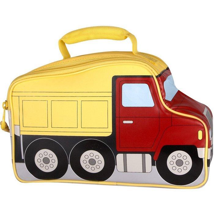 Сумка-термос Thermos Truck NoveltyСумки-холодильники<br>Для сохранения свежести продуктов питания, можно использовать изометрическую сумку Thermos (Термос) Truck Novelty &amp;mdash; она имеет очень оригинальный внешний вид, который по достоинству оценят не только дети, но и сами взрослые. Сумка очень вместительна, и к тому же изготовлена из качественного современного материала, защищенного от ультрафиолетовых лучей и влаги. &amp;nbsp;&amp;nbsp;&amp;nbsp;&amp;nbsp;<br>Основные достоинства рассматриваемой модели сумки-термоса от Thermos:<br><br>Невероятно стильный и забавный детский дизайн.<br>Прочный материал изготовления.<br>Внутреннее термоотталкивающее покрытие.<br>Идеальна для хранения продуктов питания для детей.<br>Удобно переносить и хранить.<br>Компактные размеры, небольшой вес.<br>Высокая степень износоустойчивости.<br><br>Сумки-термосы от торговой марки Thermos станут для вас отличными спутницами в путешествии или на пикнике, где они просто незаменимы благодаря своим эксплуатационным свойствам и пользовательским характеристикам. Данные аксессуары помимо того, что имеют большое количество дополнительных отделений, карманов для всяких мелочей и косметичку, при хранении удобно складываются.&amp;nbsp;<br><br>Страна: Великобритания<br>Объем, л: 4.5<br>Мощность, Вт: None<br>Питание, В: Нет<br>Темп. max, С: None<br>Темп. min, С: None<br>Габариты ВxШxД, мм: 170x265x105<br>Вес, кг: 1<br>Гарантия: 1 год<br>Кабель питания: Нет<br>Назначение: Сумкатермос
