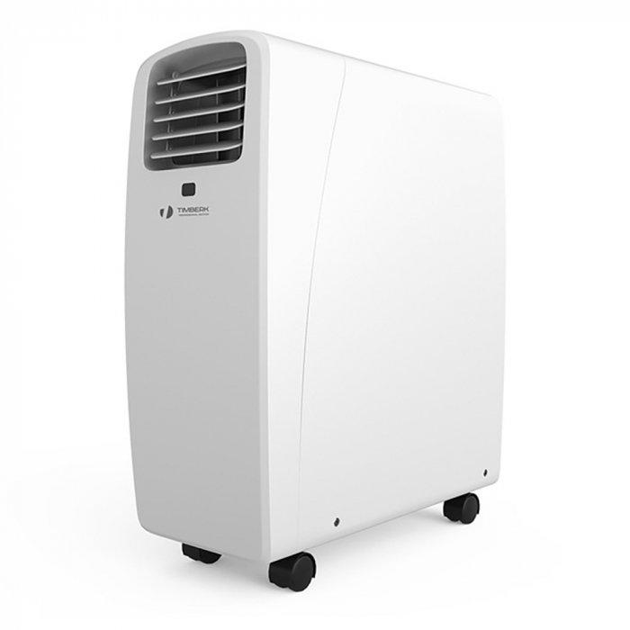 Мобильный кондиционер Timberk AC TIM 09C P62.6 кВт<br>Современный кондиционер AC TIM09CP6 от производителя Timberk &amp;ndash; новинка на российском рынке климатической техники. Корпус устройства выполнен из высококачественного пластика и имеет удобный компактный размер. Кондиционер создан для работы на охлаждение и вентиляцию. Также есть функция, позволяющая проводить осушение помещения, если воздух в нем имеет высокий уровень влажности.<br><br>Особенности и преимущества мобильных кондиционеров серии AC TIM от компании Timberk:<br><br>Охлаждение, обогрев, осушение, вентиляция: 4 в 1.<br>Хорошая шумоизоляция внутри корпуса.<br>Таймер на отключение.<br>Реверсивная конструкция корпуса 2-Way Reverse.<br>Высокая производительность по осушению.<br>Автоматическое испарение конденсата.<br>Высокоэффективный компрессор.<br>Экономичное энергопотребление.<br>Три варианта цветовых решений: голубой, красный и чистый белый.<br>Моющийся воздушный фильтр.<br>Надежность и долговечность.<br>Комфорт и безопасность.<br>Легкость транспортировки.<br><br>Мобильные кондиционеры Timberk станут прекрасными помощниками в создании комфортного микроклимата. Их небольшие размеры и вес, эргономичная конструкция позволят не просто перемещать агрегаты из одной комнаты в другую, но и взять их с собой на дачу. Инновационная технология 2 Motor Drive technology (сверхбыстрая коррекция температуры) позволяет в кратчайшие сроки достичь желаемого уровня температуры воздуха в помещении. Это достигается благодаря наличию двух двигателей, управляющих работой конденсатора и испарителя. Стоит отметить, что компания Timberk уже давно зарекомендовала себя в качестве надежного партнера и поставщика качественного климатического оборудования. Продукция под этим брендом пользуется особой расположенностью покупателей, как российских, так и иностранных.<br><br>Страна: Швеция<br>Охлаждение,кВт: 2,6<br>Обогрев, кВт: None<br>Потребление при охл., кВт: 0,95<br>Потребление при обогреве, кВт: None<br>Расход воздуха, мsup3;/