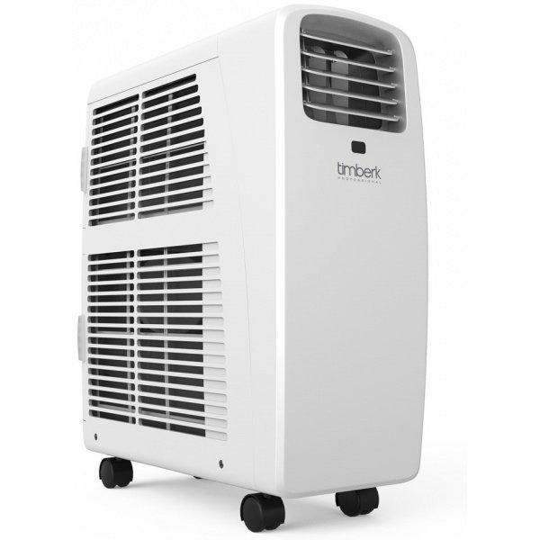 Мобильный кондиционер Timberk AC TIM 09C P82.6 кВт<br>Лаконичный мобильный кондиционер с эргономичной и продуманной конструкцией Timberk (Тимберк) AC TIM 09C P8 &amp;mdash; это многофункциональное напольное климатическое оборудование компактных размеров, которое имеет высокий класс энергоэффективности и отличается высокой производительностью. Предназначена представленная модель для охлаждения воздуха в различных помещениях.<br>Основные достоинства рассматриваемой модели кондиционера:<br><br>Класс &amp;laquo;А&amp;raquo; энергоэффективности<br>3 в 1: охлаждение, вентиляция, осушение<br>Надежное механическое управление<br>Компактный размер<br>Автоматическое испарения конденсата<br>Монтажный комплект SLIDER для установки прилагается<br>Моющийся воздушный фильт<br><br>Комплект поставки:<br>1. Кондиционер бытовой - 1 шт.<br>2. Воздуховыпускной шланг - 1 шт.<br>3. Упаковка - 1шт.<br>4. Руководство по эксплуатации и гарантийный талон - 1 шт.<br>5. Дополнительные аксессуары в комплекте зависят от поставки.<br>Рассчитанные на охлаждение, вентиляцию и осушение, многофункциональные мобильные кондиционеры с лаконичным дизайнерским решением Timberk Techno Freeze: P8 имеют высокий класс энергоэффективности и надежное исполнение из материалов высокого качества. Модели из серии оснащены моющимся воздушным фильтром, позволяющим организовать более здоровую атмосферу внутри помещения.<br><br>Страна: Швеция<br>Охлаждение,кВт: 2,63<br>Обогрев, кВт: Нет<br>Площадь, м?: 25<br>Потребление при охл., кВт: 0,95<br>Потребление при обогреве, кВт: Нет<br>Расход воздуха, мsup3;/ч: 330<br>Уровень шума, дБа: 53<br>Отвод конденсата: Дренажная трубка<br>Осушение воздуха: Есть<br>Приток свежего воздуха: Нет<br>Беструбный: Нет<br>Хладагент: R410A<br>ГабаритыШВГ,мм: 270x480x695<br>Вес, кг: 25<br>Гарантия: 2 года
