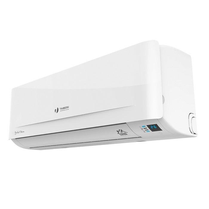 Настенный кондиционер Timberk AC TIM 18H S2255 м? - 5.5 кВт<br>Идеально подходящий не только для летнего, но и для межсезонного использования настенный кондиционер Timberk (Тимберк) AC TIM 18H S22 может работать не только на обогрев и охлаждение, но и на осушение, что позволит ему снизить уровень влажности в жилом помещении, поддерживая более благоприятный для здоровья микроклимат. Предусмотрен ночной режим работы для вашего комфортного сна.<br>Основные достоинства рассматриваемой модели настенной сплит-системы:<br><br>&amp;laquo;A&amp;raquo; класс энергоэффективности<br>Полноценный осушитель и обогреватель воздуха для межсезонного использования<br>Режим вентиляции без понижения температуры в помещении<br>Автоматический режим работы<br>Таймер на включение и отключение 24 часа<br>Ночной режим работы<br>Авторестарт при возобновлении электропитания<br>Экологичный хладагент R410A<br>Низкий уровень шума<br>Встроенная ионизация воздуха<br>Свечение индикаторов дисплея сквозь пластик Hidden Display<br>Возможность полноценного ручного управления с панели внутреннего блока Manual Control<br><br>Разработанные надежной производственной компанией, кондиционеры с настенным вариантом монтажа и высоким классом энергоэффективности Timberk Universe: S22 &amp;mdash; это новый уровень комфорта! Представленное в линейке климатическое оборудование имеет уникальное дизайнерское решение, отличные технические и эксплуатационные характеристики. Пользователю доступно ручное управление, предусмотрен дисплей со световой индикацией. &amp;nbsp; &amp;nbsp;<br><br>Горизонтальная регулировка потока: Нет<br>Страна бренда: Швеция<br>Уровень шума, дБа: 56<br>Габариты ВхШхГ, см: 76x25,6x55,2<br>Производитель: Китай<br>Вес, кг: 33<br>Компрессор: Не инвертор<br>Площадь, м?: 50<br>Режим работы: холод/тепло<br>Уровень шума, дБа: 43<br>Охлаждение, кВт: 5,5<br>Габариты ВхШхГ, см: 94,6x30,8x22,.6<br>Вес, кг: 9<br>Обогрев, кВт: 5,6<br>Потребление при охлаждении, кВт: 1,751<br>Потребление при обогреве, кВт: 1,54