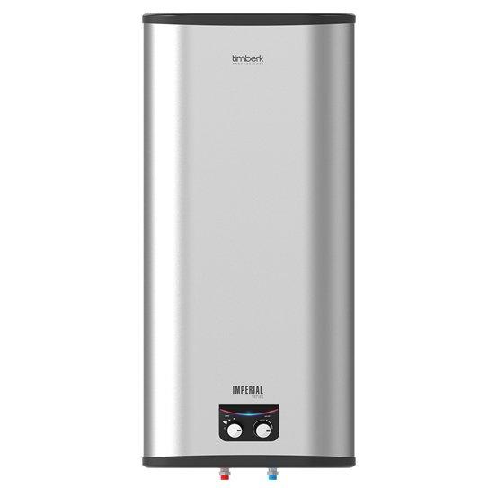Водонагреватель Timberk SWH FSM3 100 VH100 литров<br>Timberk (Тимберк)&amp;nbsp;SWH FSM3 100 VH&amp;nbsp;является электрическим накопительным водонагревателем, представляющим собой емкость, которая оборудована ТЭНами внутри, а также&amp;nbsp; качественной защитной облицовкой, находящейся снаружи. Благодаря наличию термостата предоставляется возможность осуществлять включение и отключение ТЭНов, что обеспечивает возможность поддержания необходимой пользователю температуры воды. Сразу же после достижения необходимой температуры происходит полностью автоматическое включение подогрева воды.&amp;nbsp;<br>Особенности рассмативаемой модели водонагревателя от&amp;nbsp;Timberk:&amp;nbsp;<br><br>Новой технологией крепления крышек нагревателя воды под названием HIDDEN FORCE, делающей его дизайн неповторимым за счет отсутствия швов на фронтальной поверхности устройства.<br><br>Прочным стальным корпусом, покрытым белой матовой эмалью<br>Эргономичной панелью управления, выполненной в приятных пастельных тоннах<br>Двухуровневой световой индикацией: при нагреве светится ярко-розовым светом, при обычном - голубым светом<br>Равномерным нагревом воды за счет наличия оптимизированной системы переливов<br>Высоким уровнем энергоэффективности: благодаря наличию слоя самой качественной теплоизоляции, которая равномерно без пустот заполняет внутреннее пространство между корпусом устройства и его баками. Реальное снижение потерь тепла достигается благодаря абсолютному отсутствию тепловых мостиков.<br>Cистемой экономии электричества Power Proof&amp;reg;, позволяющей устанавливать один из трех &amp;nbsp;режимов мощности в работе нагрева.<br>Позицией оптимального положения терморегулятора, соответствующей самой комфортной температуре подогрева воды в баке прибора (+58&amp;deg; (&amp;plusmn;2&amp;deg;С)), а также самому эффективному режиму для расхода электричества.<br><br>Электрические накопительные водонагреватели из серии&amp;nbsp;SWH FSM3&amp;nbsp;обладают рядом неоспоримых преимуществ, отли