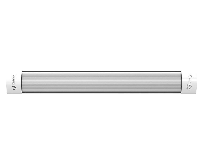 Инфракрасный обогреватель Timberk TCH A5 15001 кВт<br>Современное оборудование Timberk (Тимберк) TCH A5 1500 &amp;ndash; это модель обогревателя инфракрасного типа из серии Carribia: A5, которая отличается лаконичным дизайном и возможностью объединения устройств в единую группу (предполагается потолочный монтаж). Производитель предусмотрел для прибора возможность повышенной экономии электрической энергии и чуткий контроль за ее расходом.<br>Особенности и преимущества инфракрасных обогревателей Timberk серии &amp;laquo;Carribia: A5&amp;raquo;:<br><br>Возможность объединения приборов в группу - до 3000 Вт суммарной мощности<br>Компактный размер<br>Отражательный экран с высочайшим коэффициентом отражения<br>Повышенная экономия расхода электроэнергии<br>Потолочный монтаж - экономия пространства помещения<br>Безопасное потолочное крепление: горячая рабочая поверхность недоступна для случайных контактов.<br>Возможность подключения блока дистанционного управления TMS 08.CH*<br>Возможность подключения комнатного термостата TMS.09CH или TMS 10.CH**<br><br>Комплект поставки включает:<br><br>Инфракрасный обогреватель - 1 шт<br>Крепежный комплект - 1 шт<br>Руководство по эксплуатации и гарантийный талон - 1 шт<br><br>Carribia: A5 &amp;ndash; это еще одно семейство обогревательных приборов из Скандинавии. Вошедшие в серию агрегаты, пожалуй, одни из лучших представителей сегмента: эргономичные, легкие, долговечные и очень удобные. Используя инфракрасный обогрев, вы сможете создать комфортные микроклиматические условия в жилых, офисных, коммерческих помещениях, при этом не затрачивая много электрической энергии. Ко всему прочему инфракрасное тепло совершенно безопасно для человека, оно по своей сути похоже на солнечные лучи, которые воздействуют прямо на предметы, а не воздух.<br>&amp;nbsp;<br>* Блок управления не входит в комплект поставки, приобретается отдельно.<br>** Комнатный термостат не входит в комплект поставки, приобретается отдельно.<br><br>Страна: Швеция<br>Мощность, к