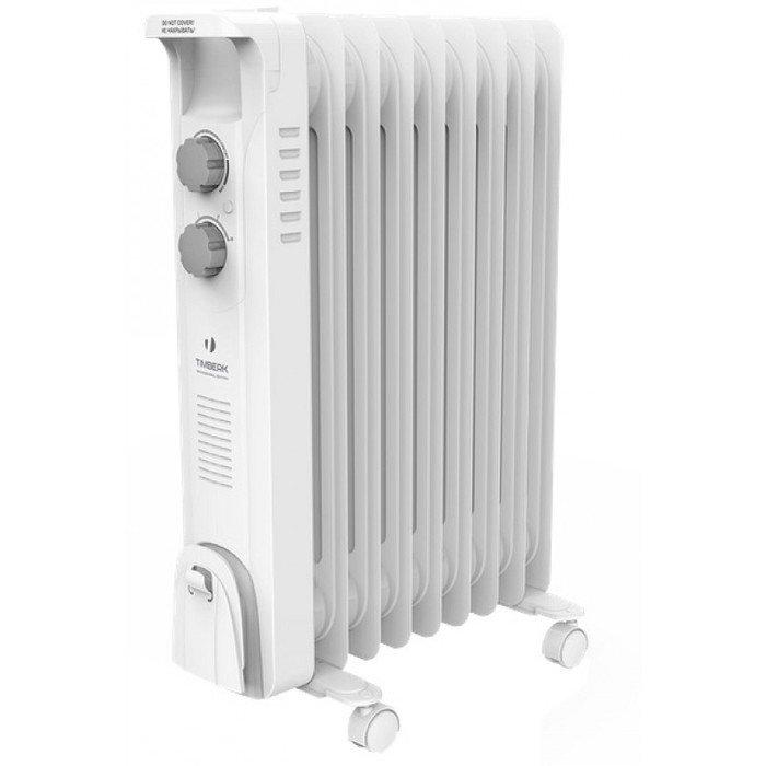 Масляный радиатор Timberk TOR 21.1206 BC1.2 кВт<br>Стильный и компактный масляной радиатор Timberk TOR 21.1206 BC также характеризуется отличной энергоэффективностью, особой непревзойденной надежностью исполнения всей конструкции модели и изящным компактным дизайном. Устройство мобильно, его можно без труда перемещать из одного помещения в другое и использовать для постоянно обогрева в течение долгого времени.<br>Особенности и преимущества масляных радиаторов Timberk серии Blanco Ext: BC:<br><br>Классический тип секций и элегантный дизайн<br>Серия включает модели с 6, 7, 9, 12 секциями мощностью от 1200 до 2500 Вт<br>Колесики для перемещения и устройство для намотки сетевого шнура<br>Три ступени мощности нагрева<br>Встроенный регулируемый термостат<br>Механизм защиты от перегрева и замерзания<br>Технология STEEL SAFETY - исключает проблему утечки масла и гарантирует высочайшую надежность маслонаполненных радиаторов<br>Особый цвет секций радиатора - молочно-белый. Этот небольшой цветовой нюанс создает новую тенденцию в дизайне простых обогревательных приборов.<br><br>Серия Blanco Ext: BC включает в себя масляные радиаторы Timberk, исполненные с высоким качеством из особопрочных и надежных материалов и отличающиеся элегантным усовершенствованным дизайном. Такие устройство эффективно обогревают помещениях самых разнообразных типов, не портят интерьер при размещении и всегда характеризуются полной безопасностью. <br> <br> <br> <br><br>Страна: Швеция<br>Мощность, Вт: 1200<br>Площадь, м?: 12<br>Колво секций: 6<br>Напряжение, В: 220 В<br>Вес, кг: 6.3<br>Гарантия: 2 года