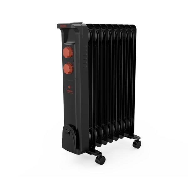 Масляный радиатор Timberk TOR 21.2512 BCL2.5 кВт<br>Изящный классический дизайн масляного радиатора модели Timberk TOR 21.2512 BCL станет оригинальным дополнением интерьера и отлично подходит ко многим типам современного ремонта. Комплектация устройства отличается своей технологичной и качеством; отдельных слов также заслуживает конструкция обогревателя: компактные размеры позволяют легко транспортировать и размещать радиатор.<br>Особенности и преимущества масляных радиаторов Timberk серии Noir Ext: BCL:<br><br>Классический тип секций и элегантный дизайн<br>Серия включает модели с 6, 7, 9, 12 секциями мощностью от 1200 до 2500 Вт<br>Колесики для перемещения и устройство для намотки сетевого шнура<br>Три ступени мощности нагрева<br>Встроенный регулируемый термостат<br>Механизм защиты от перегрева и замерзания<br>Технология STEEL SAFETY - исключает проблему утечки масла и гарантирует высочайшую надежность маслонаполненных радиаторов<br>Особый цвет секций радиатора - черный. Этот небольшой цветовой нюанс создает новую тенденцию в дизайне простых обогревательных приборов.<br><br>Масляные радиаторы Timberk серии Noir Ext: BCL   это высокотехнологичные стильные отопительные устройства для вашего дома, способные с минимальным энергопотреблением создавать и поддерживать комфортные условия в любых помещениях. Особое высокопрочное исполнение моделей Noir Ext: BCL обеспечивает их несравненную гарантированную долговечность и защищает от механических воздействий. <br> <br> <br> <br> <br> <br> <br><br>Страна: Швеция<br>Мощность, Вт: 2500<br>Площадь, м?: 25<br>Колво секций: 12<br>Напряжение, В: 220 В<br>Вес, кг: 11.7<br>Гарантия: 2 года