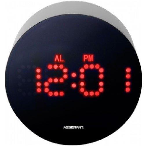 Проекционные часы Uniel AH-1025BЧасы без проекции<br>Uniel AH-1025B   это цифровые настольные часы с интересным и стильным дизайном корпуса (материал   акрил), а также встроенной удобной функцией будильника. Такая модель отличается передовой точностью, долго служит в обычных условиях; вся информация отображается на современном дисплее с красной подсветкой. Часы предлагаются по оптимально низкой цене.<br>Особенности и преимущества:<br><br>Кварцевый механизм с цифровой индикацией на жидкокристаллическом дисплее.<br>Дисплей шириной 80 мм и высотой 40 мм<br>Формат времени 12/24 часа<br>Будильник с функцией повтора<br>Подсветка дисплея красного цвета.<br>Материал корпуса - акрил<br>Габаритные размеры: ширина 105 мм, высота 100 мм, толщина 50 мм.<br>Вес -196 грамм<br>Питание от сети переменного тока, блок питания в комплекте, длина сетевого шнура - 1.8 м<br>Батарейки для сохр. настроек - 3 шт., тип AAA (LR 03).<br><br>Линейка многофункциональных часов от известной торговой марки UNIEL, несомненно, придется по вкусу всем любителям технологий. Эти устройства представляют собой современные гаджеты, которые оснащены не только индикатором точного времени, но и еще множеством дополнительных возможностей. Например, это функция  Snooze  у будильника. Дословно  Snooze  переводится, как  вздремнуть . То есть будильник позволяет несколько раз откладывать сигнал, что весьма понравится любителям подольше полежать в кровати по утрам.<br><br>Страна: Китай<br>Питание, В: Сеть/Бат.<br>Тип батарейки: ААА<br>Колво батареек: 3<br>Адаптер к 220В: Есть<br>С будильником: Да<br>Радиодатчик: Нет<br>С метеостанцией: Нет<br>В помещении t, С: Нет<br>За окном t, С: Нет<br>Влажность в помещении: Нет<br>Влажность за окном: Нет<br>Давление: Нет<br>Прогноз погоды: Нет<br>Габариты, мм: 100x105x50<br>Вес, кг: 1<br>Гарантия: 1 год<br>Ширина мм: 105<br>Высота мм: 100<br>Глубина мм: 50