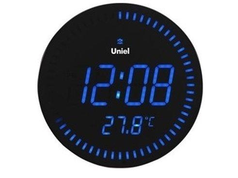 Часы без проекции Uniel BV-10B (UTL-10B)Часы без проекции<br>Настенные часы со светодиодным дисплеем BV-10B &amp;ndash; это еще одна новинка от компании UNIEL . Представленная модель может показывать время как в двенадцати, так и в двадцатичетырехчасовом формате, оснащена будильником с возможностью отложить несколько раз сигнал, а также индикатором температурного режима в комнате. Работает устройство от обычной сети 220В, а адаптер для подключения имеется в комплекте поставки.<br>Основные преимущества использования рассматриваемой модели настенных часов от торговой марки UNIEL:<br><br>Новинка сезона!<br>Настенные часы с адаптером и пультом управления.<br>Возможно использовать, как и настольные есть подставка.<br>Светодиодный дисплей.<br>Часы формата 12/24.<br>Внутренняя температура (&amp;deg;C/&amp;deg;F).<br>Будильник с функцией snooze.<br>Кварцевый генератор, пульт дистанционного управления.<br>Цвет свечения &amp;ndash; красный.<br>Питание: 220В, 50Гц.<br><br>Подбираете настенные часы? Обратите внимание на линейку таких устройств от компании UNIEL. Настенные часы от этого бренда сразу бросаются в глаза своим дизайном: их облик &amp;ndash; это строгая геометрия, которая сочетает в себе эргономичность и неизменный стиль, приправлена нотками минимализма и смягчена приятной светодиодной подсветкой. Модельный ряд серии достаточно широк: здесь покупатели найдут и устройства, которые показывают только время, и гаджеты с дополнительным функционалом, таким как индикация температуры внутри помещения.<br><br>Страна: Китай<br>Питание, В: Сеть/Бат.<br>Тип батарейки: ААА<br>Колво батареек: 3<br>Адаптер к 220В: Есть<br>С будильником: Нет<br>Радиодатчик: None<br>С метеостанцией: None<br>В помещении t, С: Нет<br>За окном t, С: Нет<br>Влажность в помещении: Нет<br>Влажность за окном: Нет<br>Давление: Нет<br>Прогноз погоды: Нет<br>Габариты, мм: 280x280x25<br>Вес, кг: 1<br>Гарантия: 1 год<br>Ширина мм: 280<br>Высота мм: 280<br>Глубина мм: 25