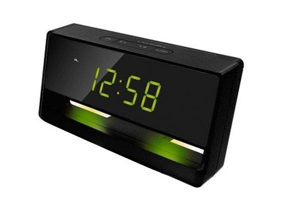 Часы без проекции Uniel UTL-45GЧасы без проекции<br>UTL-45G &amp;ndash; это настольные электронные часы, дисплей которых имеет декоративную мягкую подсветку. Время данный гаджет может показывать как в двенадцати, так и в двадцатичетырехчасовом формате. Имеет будильник с функцией &amp;laquo;Snooze&amp;raquo; &amp;ndash; откладывание сигнала. В комплекте сетевой адаптер для подключения аксессуара к розетке. Может использовать батарейки в качестве резервного источника питания.<br>Основные преимущества использования рассматриваемой модели модели многофункциональных электронных часов&amp;nbsp;от торговой марки UNIEL:<br><br>Стильный эргономичный дизайн.<br>Компактные размеры конструкции.<br>Часы электронные с декоративной подсветкой.<br>Авторегулировка яркости свечения.<br>12/24 формат времени.<br>Будильник с повторяющимся сигналом (Snooze).<br>Сетевой адаптер 220В.<br>Резервное питание CR2032.<br>Высокое качество и комфорт в управлении.<br><br>Линейка многофункциональных часов от известной торговой марки UNIEL, несомненно, придется по вкусу всем любителям технологий. Эти устройства представляют собой современные гаджеты, которые оснащены не только индикатором точного времени, но и еще множеством дополнительных возможностей. Например, это функция &amp;laquo;Snooze&amp;raquo; у будильника. Дословно &amp;laquo;Snooze&amp;raquo; переводится, как &amp;laquo;вздремнуть&amp;raquo;. То есть будильник позволяет несколько раз откладывать сигнал, что весьма понравится любителям подольше полежать в кровати по утрам.<br><br>Страна: Китай<br>Питание, В: Сеть/Бат.<br>Тип батарейки: CR2032<br>Колво батареек: 1<br>Адаптер к 220В: Есть<br>С будильником: Да<br>Радиодатчик: None<br>С метеостанцией: None<br>В помещении t, С: Нет<br>За окном t, С: Нет<br>Влажность в помещении: Нет<br>Влажность за окном: Нет<br>Давление: Нет<br>Прогноз погоды: Нет<br>Габариты, мм: 170x28x78<br>Вес, кг: 1<br>Гарантия: 1 год<br>Ширина мм: 28<br>Высота мм: 170<br>Глубина мм: 78