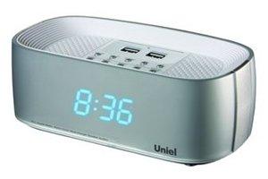 Часы без проекции Uniel UTR-23BSUЧасы без проекции<br>Часы-радиобудильник модели UTR-23BSU, разработанные отечественной компанией UNIEL. Гаджет имеет гибкую настройку интенсивности подсветки, оснащен удобной панелью управления, большим дисплеем и радиоприемником, линейным входом для подключения наушников, стереодинамиками и даже двумя портами для USB-флеш-накопителей.<br>Основные преимущества использования рассматриваемой модели электронных часов с радио от торговой марки UNIEL:<br><br>Стильный эргономичный дизайн.<br>Компактные размеры конструкции.<br>Радиобудильник.<br>Часы (23 мм цифры).<br>Регулировка яркости дисплея.<br>30 уровней регулировки звука.<br>Высококачественный стереодинамик.<br>2 USB порта.<br>Линейный вход для наушников.<br>Высокое качество и комфорт в управлении.<br><br>Торговая марка UNIEL   это прекрасно себя зарекомендовавший, надежный партнер и поставщик качественного оборудования. Компания разработала семейство современных удобных часов, оснащенных радиоприемником. Помимо индикатора точного времени эти гаджеты оборудованы будильниками, которые могут в качестве звукового сигнала использовать любую радиостанцию. Более того, практически все модели имеют память на несколько радиостанций. Также стоит отметить, что устройства выполнены в стильном современном дизайне, который сможет органично вписаться в интерьерное решение и гостиной, и спальни.<br><br>Страна: Китай<br>Питание, В: Сеть/Бат.<br>Тип батарейки: ААА<br>Колво батареек: 3<br>Адаптер к 220В: Есть<br>С будильником: Да<br>Радиодатчик: Да<br>С метеостанцией: None<br>В помещении t, С: Нет<br>За окном t, С: Нет<br>Влажность в помещении: Нет<br>Влажность за окном: Нет<br>Давление: Нет<br>Прогноз погоды: Нет<br>Габариты, мм: 195x95x80<br>Вес, кг: 1<br>Гарантия: 1 год<br>Ширина мм: 95<br>Высота мм: 195<br>Глубина мм: 80