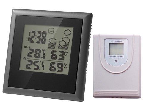 Часы без проекции Uniel UTV-65Часы без проекции<br>UTV-65 представляет собой настольную метеостанцию в ультратонком корпусе, разработанную торговой маркой UNIEL. Гаджет оснащен барометром высокой точности, датчиками температуры и влажности внутри помещения, а также на улице, оборудован часами, календарем и будильником. В качестве источника питания устройство использует батарейки типа CR2032: 4 штуки по 3В.<br>Основные преимущества использования рассматриваемой модели домашней метеостанции от торговой марки UNIEL:<br><br>Стильный эргономичный дизайн.<br>Компактные размеры конструкции.<br>Ультратонкая метеостанция с беспроводным датчиком.<br>Толщина 12 мм.<br>Высоточный барометр.<br>Измерение комнатной температуры и влажности.<br>3-х канальный беспроводной датчик уличной температуры и влажности.<br>Анимированный прогноз погоды.<br>Часы с 12/24 форматом времени.<br>Будильник, календарь.<br>Питание: 3В х 4шт./CR2032.<br>Высокое качество и комфорт в управлении.<br><br>Бренд UNIEL &amp;ndash; поставщик качественного и надежного оборудования &amp;ndash; разработал семейство настольных метеостанций в компактном корпусе. Эти гаджеты станут прекрасным выбором для метеозависимых людей: устройства не просто показывают температуру за окном, а могут прогнозировать погоду, информировать об уровне относительной влажности и даже атмосферном давлении, возможном гололеде и зоне комфортности. Все модели оснащены большими дисплеями, а многие из них еще и анимацией. Также стоит отметить, что все метеостанции имеют индикатор точного времени и будильник.<br><br>Страна: Китай<br>Питание, В: Сеть/Бат.<br>Тип батарейки: CR2032<br>Колво батареек: 4<br>Адаптер к 220В: Есть<br>С будильником: Да<br>Радиодатчик: None<br>С метеостанцией: Да<br>В помещении t, С: Да<br>За окном t, С: Нет<br>Влажность в помещении: Да<br>Влажность за окном: Нет<br>Давление: Нет<br>Прогноз погоды: Да<br>Габариты, мм: 124х125х12<br>Вес, кг: 1<br>Гарантия: 1 год<br>Ширина мм: 125<br>Высота мм: 124<br>Глубина мм: 12