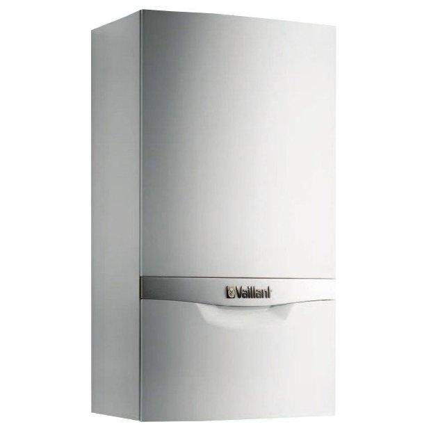 Котел Vaillant VUW 280/5-5 atmoTEC plus28 кВт<br>Снабдить жилой участок горячей качественной водой, а также организовать безопасное и комфортное отопление способен настенный газовый котел с новейшей внутренней комплектацией Vaillant (Вайлант) VUW 280/5-5 atmoTEC plus. Данное оборудование отличается высококлассным качественным исполнением и умным интуитивным управлением, а также имеет защиту от влияния внешней среды.<br>Особенности и преимущества настенных газовых котлов Vaillant серии atmoTEC   turboTEC plus:<br>- Описание<br><br>Газовый настенный отопительный аппарат со встроенным приготовлением горячей хозяйственной воды<br>Мощность аппарата регулируется модулирующей горелкой<br>Регулирование температуры горячей воды<br>Автоматическое переключение в режим приготовления горячей хозяйственной воды при её расходе от 1,5 л/мин и управление мощностью аппарата по расходу и температуре нагреваемой воды<br>Естественный отвод продуктов сгорания в дымоход<br><br>- Возможности установки<br><br>Отопление и встроенное горячее водоснабжение<br>Для реконструируемых и строящихся жилых домов и квартир<br>Возможность установки в жилой зоне<br>Минимальный требуемый боковой зазор 10 мм, все узлы доступны спереди<br>НЕ ИСПОЛЬЗУЮТСЯ В КАСКАДНЫХ УСТАНОВКАХ<br><br>- Оснащение<br><br>Встроенный проточный пластинчатый теплообменник для нагрева воды, противодействующий образованию накипи<br>Встроенный циркуляционный насос с автоматическим переключением ступеней<br>Закрытый расширительный бак<br>Автоматический воздухоотводчик<br>Автоматический настраиваемый перепускной вентиль<br>Предохранительный вентиль<br>Приоритетный переключающий вентиль с электроприводом<br>Интеллектуальный контроль давления в системе отопления<br>Первичный теплообменник из меди со средним КПД   91%<br>Горелка из хромо-никелевой стали<br>Постоянно действующая защита от замерзания<br>Защита от заклинивания насоса и трёхходового вентиля<br>Переключатель  ЗИМА/ЛЕТО <br>Возможность настройки на частичную мощность в режиме 