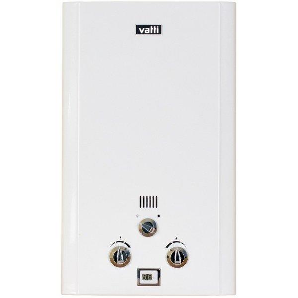 Водонагреватель Vatti LR20-JES16-21 кВт<br>Если вам нужна горячая вода в частном доме или квартире   вам нужен Vatti (Ватти) LR20-JES. Стоит только повернуть ручку крана с горячей водой, как водонагреватель начнет свою работу и автоматически выключится после завершения процедуры. Также отличительной особенностью данного агрегата является режим  зима-лето .  Что касается безопасности, о ней позаботится многоступенчатая система мониторинга.<br>Особенности и преимущества:<br><br>Удобное управление.<br>Встроенная система безопасности.<br>Макс. температура нагрева 65  С<br>Камера сгорания: открытая<br>Розжиг от батареек.<br>Вид топлива: природный газ / сжиженный газ.<br><br>Газовые проточные водонагреватели Vatti оснащены функцией автовлючения при повороте ручки крана горячей воды и автовыключения при ее повороте в обратную сторону. Каждая модель является абсолютно безопасной в эксплуатации и оснащена режимом  зима-лето . Оборудование удобно в управлении благодаря дисплею и индикатору температуры горячей воды.<br><br>Страна: Китай<br>Производитель: Китай<br>Способ нагрева: Газовый<br>Производительность: 10,0<br>Темп. нагрева, С: 65<br>Давление на входе: 0,8<br>Мощность, кВт: 20,0<br>Тип камеры: Открытая<br>Дисплей: Да<br>Защита: Есть<br>Установка: Настенная<br>Розжиг: Электророзжиг<br>Теплообменник: Медный<br>Модуляция мощности: Нет<br>Габариты ШхВхГ, см: 550х330х180<br>Вес, кг: 9<br>Гарантия: 2 года<br>Ширина мм: 5500<br>Высота мм: 3300<br>Глубина мм: 1800