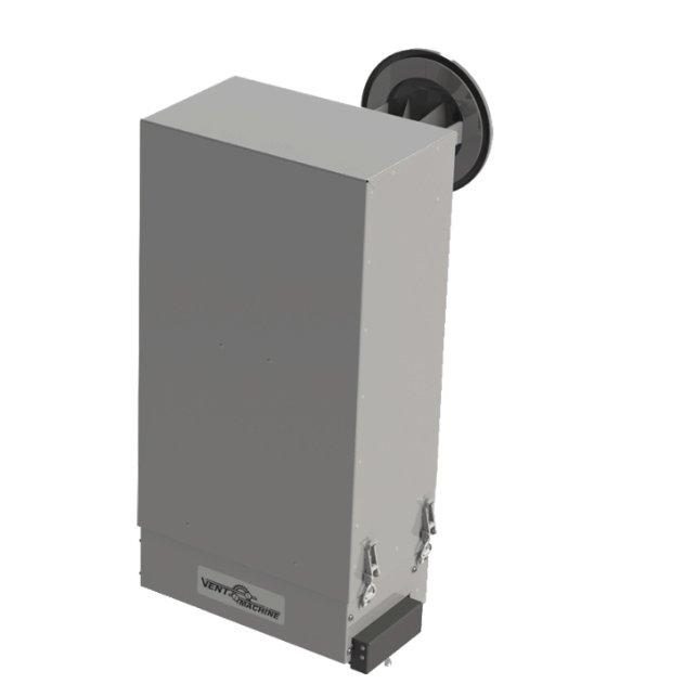 Бытовая приточная вентиляция Vent Machine V-STAT FKO 4А ZenTecБытовые приточные<br>Наружная современная приточная установка Vent Machine V-STAT FKO 4А ZenTec оборудована первоклассной системой фильтрации воздуха, с помощью которой Вы без особого труда избавитель от различных загрязнений, бактерий и посторонних запахов, осуществляя вентиляцию помещения. Рассматриваемый агрегат также отличается высокими и стабильными показателями производительности.<br>Особенности и преимущества вентиляционных установок от бренда Vent Machine:<br><br>Компактные размеры (учитывая максимальную комплектацию)<br>Встроенный шумоглушитель, делающий установку почти беззвучной<br>Интеллектуальная система управления<br>Автоматическая система регулирования заданной температуры<br>Регулировка количества подаваемого воздуха<br>Система контроля загрязненности фильтра<br>Пожаробезопасный полупроводниковый нагреватель<br>Встроенный воздушный клапан оснащенный электроприводом с возвратной пружиной.<br>Принудительно закрывает клапан в случае отключения электропитания.<br>Угольно-фотокаталитический фильтр глубокой очистки воздуха<br>Многофункциональный пульт управления ZENTEC с ЖК-дисплеем<br><br>Торговая марки Vent Machine выпустила серию обновленных приточных и приточно-вытяжных вентиляционных установок, которые еще более удобны в эксплуатации и максимально производительны в работе. Устройства имеют компактные конструкции и понятную систему интеллектуального управления. Одним из преимуществ вентустановок семейства стоит отметить высокую степень защиты, которая позволяет размещать агрегаты даже вне помещений, на что не способны многие приборы от других производителей. <br><br>Страна: Россия<br>Производитель: Россия<br>Поток воздуха мsup3; ч: 230<br>Пульт ДУ: Нет<br>Нагреватель: Электрический<br>Мощность нагревателя, кВт: 2,0<br>Фильтр: EU9<br>Таймер: Нет<br>WiFi: Нет<br>Max мощность, кВт: 2,83<br>Питание, В: 220 В<br>Уровень шума, дБ: 29<br>Тип установки: Настенная<br>Темп. эксплуатации, С: 26...+50<b