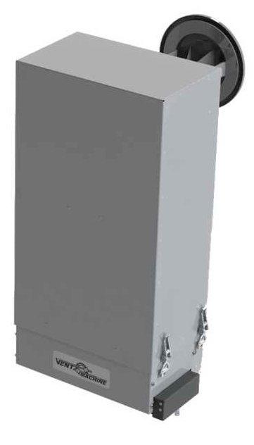 Бытовая приточная вентиляция Vent Machine V-STAT FKO 4A GTCБытовые приточные<br>Вентиляционная установка V-STAT FKO 4A GTC под брендом Vent Machine представляет собой агрегат для подачи свежего воздуха в помещения. Одно из главных преимуществ данной системы   это пятиступенчатая система фильтрации, которая включает в себя пылевой фильтр EU-9, антибактериальный и угольный фильтры, а также фотокаталистический фильтр и светодиодные облучатели. Благодаря этому устройство сможет удалить до 99,99% загрязнений, включая и мельчайшие частички, в также уничтожить болезнетворные микроорганизмы, плесень и другие грибки.<br>Особенности и преимущества приточных установок серии V-STAT от компании Vent Machine:<br><br>Супер компактные размеры (учитывая комплектацию).<br>Низкий уровень шума.<br>Революционный способ монтажа. Быстрый, легкий, без нарушения отделки помещения, не требующий специальных навыков.<br>Многофункциональный сенсорный пульт класса люкс с цветным дисплеем.<br>Недельный таймер с ежедневной уникальной настройкой.<br>Автоматическая система регулирования заданной температуры.<br>Энергосберегающий, пожаробезопасный полупроводниковый нагреватель, не сжигающий кислород.<br>Трехступенчатая регулировка количества подаваемого воздуха.<br>Встроенный воздушный клапан оснащённый электроприводом.<br>Класс защиты, позволяющий размещать установку за пределами помещения (на улице, под воздействием окружающей среды).<br>Пятиступенчатая система очистки воздуха.<br>Система контроля загрязненности фильтра.<br>Упрощенная система обслуживания.<br>Удобные разъемы проводов питания и управления.<br>Присоединительный размер d/mm   125.<br>Возможность монтажа на вентилируемом фасаде.<br><br>Приточная установка V-STAT FKO GTC имеет универсальный вариант монтажа, т.е. закрепить её можно как вертикально, так и горизонтально. Малые размеры помещения (низкие потолки, отсутствие подсобных помещений), не препятствуют установке оборудования. Компактные габариты делают прибор мало заметным на стене 
