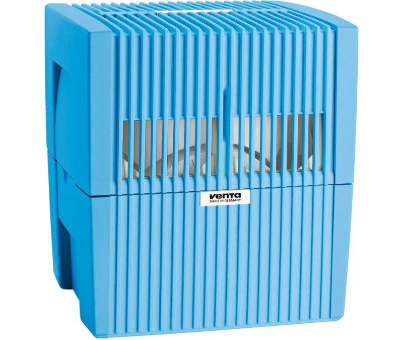 Мойка воздуха Venta LW 25 голубаяБытовые мойки<br>Мойка воздуха Venta (Вента) LW 25 голубая имеет три режима работы, .среди которых пользовать сможет выбрать наиболее оптимальную производительность. Агрегат снабжен вместительным баком для воды и может длительное время работать без перерыва. Управление мойкой интуитивно понятно и производится с помощью специальной кнопочной панели.<br>Особенности и преимущества мойки воздуха Venta серии LW:<br><br>Прочный корпус<br>Простая и надежная конструкция<br>Увеличенная площадь воздухообменной поверхности<br>Отсутствие сменных фильтров<br>Наличие моющегося водяного фильтра<br>Электронное управление работой прибора<br>Индикация уровня воды и работы прибора<br>Прекращение работы при недостаточном количестве воды в резервуаре<br>Наличие возможности подключения гигростата<br>Повышенная влагозащищенность электронной части прибора<br>Экономичное энергопотребление<br>Низкая шумовая нагрузка<br>Наличие бесшумного  ночного  режима работы<br>Современный, лаконичный и эстетичный дизайн<br><br>Для кого-то чистый воздух с оптимальным влажностным уровнем   это вопрос комфорта нахождения в помещении, а для кого-то, например, людей страдающих заболеваниями верхних дыхательных путей или аллергиями,   необходимый минимум. Достигнуть подобных условий поможет мойка воздуха Venta серии LW, которая задержит пыль и аллергены, насытит воздух влагой. Семейство представлено моделями разной производительности, а также в корпусах различных цветовых решений. Представленные  мойки воздуха Вента укомплектованы русскоязычной инструкцией и сопровождаются официальной гарантией. <br><br>Страна: Германия<br>Производитель: Германия<br>S увлажнения, м?: 40<br>S очистки, м?: 20<br>Воздухообмен мsup3;: 3,5<br>Колво режимов работы: 3<br>Обьем бака, л: 7<br>Расход воды, мл./ч: 300<br>Уровень шума, дБа: 24<br>Мощность, Вт: None<br>Питание, В: 220 В<br>Гигростат: Да<br>Гигрометр: Да<br>Габариты ВхШхГ, см: 30х30х33<br>Вес, кг: 4<br>Гарантия: 10 лет<br>Ширина мм: 300<br>В