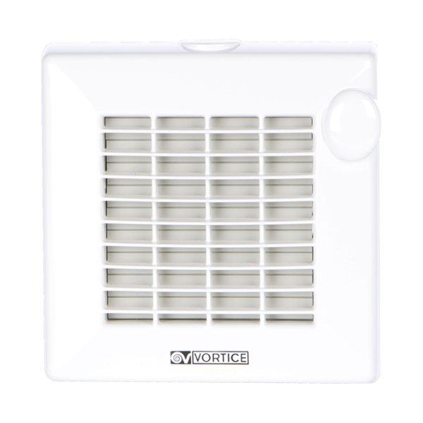 Вытяжка для ванной VorticeВытяжки для ванной<br>Vortice PUNTO M150/6 Т   это высокопроизводительный вытяжной вентилятор, удаляющий воздух и помещения, который оборудован удобным современным таймером, позволяющим на небольшой промежуток времени откладывать отключение устройства. Само представленное оборудование было изготовлено из очень качественных и передовых материалов, поэтому отличается особой надежностью.<br>Особенности и преимущества вытяжных вентиляторов Vortice представленной серии:<br><br>Головная серия, может быть оснащена автоматическими жалюзи.<br>Лицевая решётка и корпус вытяжного вентилятора выполнены из ABS пластика, стойкого к воздействию ультрафиолетового излучения.<br>На корпусе вентилятора предусмотрены отверстия для вывода кабеля.<br>Лицевая решётка вытяжного вентилятора крепится к корпусу без винтов, благодаря чему вентилятор легко устанавливать и обслуживать.<br>Цвет вытяжного вентилятора Punto   белый.<br>Монтаж вытяжных вентиляторов осуществляется на стене или потолке, с помощью четырёх винтов.<br>В комплект поставки вентиляторов входит вентилятор, инструкция, сертификат IMQ.<br><br>Модификации:<br><br>LL   Long Life: Все модели вентиляторов данного ряда имеют двигатели на шарикоподшипниках со сроком службы 30 000 часов непрерывной безотказной работы.<br>T   Timer: Все модели вентиляторов данного ряда оснащаются таймером с регулируемой задержкой выключения от 3 до 20 минут.<br>T-HCS   Timer-HCS: Гигростат включает вентилятор, когда величина относительной влажности окружающего воздуха превысит 65%.<br>А   Automatic: Все модели вентиляторов данного ряда поставляются с автоматическими жалюзи.<br>T-PIR   Timer PIR: Данные модели оснащены инфракрасным датчиком, который автоматически включает вентилятор при обнаружении движения.<br>12V   12 VOLT: модификация, рассчитанная на низковольтное питание 12 V (50 Гц), требующая трансформатор, который приобретается отдельно!<br>P   PULL CORD: модификация, включаемая при помощи шнура, смонтированного на краю