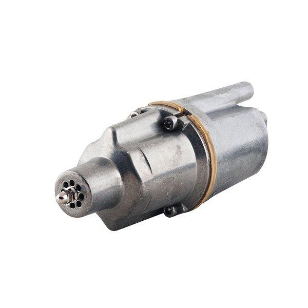 Погружной насос WWQВибрационные насосы<br>Вибрационный насос WWQ БВ-0,12-40 нижний забор 40 м. предназначен для выкачивания максимального количества воды из различных  резервуаров. Прочная конструкция корпуса и качественные материалы сборки гарантируют устройству длительный срок служб при частой эксплуатации. Поскольку агрегат работает от электросети, он имеет надежную защиту от перегрева и перепадов напряжения.<br>Особенности и преимущества:<br><br>Используются для подъема чистой воды из различных источников   колодцев, скважин, водоемов.<br>Верхнии? забор позволяет предотвратить попадание песка и грязи со дна водоема в насос, а также предотвращает перегрев насосов благодаря постоянному погружению в воду.<br>Нижнии? забор воды позволяет насосу выкачивать максимальное количество воды, практически, до дна водоема.<br>Все насосы оснащены встроенной термозащитой, которая блокирует работу насоса в случае его перегрева.<br>Насосы поставляются с сетевым кабелем питания 10м, 16м, 25м,40м и требуют напряжения в сети 220В/50Гц.<br><br>Вибрационные насосы WWQ серии БВ разработаны для подъема воды из различных резервуаров, таких как: скважины, колодцы и водоемы. Серия включает в себя широкий модельный ряд. Агрегаты делятся на два типа: с верхним и нижним забором воды. Устройства с верхним забором воды исключают попадание песка и грязи. Модели с нижним забором позволяют выкачать максимальное количество воды из резервуара.<br><br>Страна: Россия<br>Производитель: Китай<br>Производ. л/мин: 13,3<br>Max глубина погружения, м: 5<br>Мощность, Вт: 240<br>Напряжение сети, В: 220 В<br>Длина кабеля, м: 40<br>Max напор, м: 70<br>Защита от сухого хода: Нет<br>Материал корпуса: Алюминиевый сплав<br>диаметр подсоединения, дюйм: 3/4<br>Max темп. жидкости, С: 35<br>Класс защиты: Нет<br>Качество воды: Чистая<br>Установка насоса: Вертикальная<br>Габариты ВхШхГ, см: 25x10x10<br>Вес, кг: 4<br>Гарантия: 1 год<br>Наличие обратного клапана: None<br>Ширина мм: 100<br>Высота мм: 250<br>Глубина мм: 100