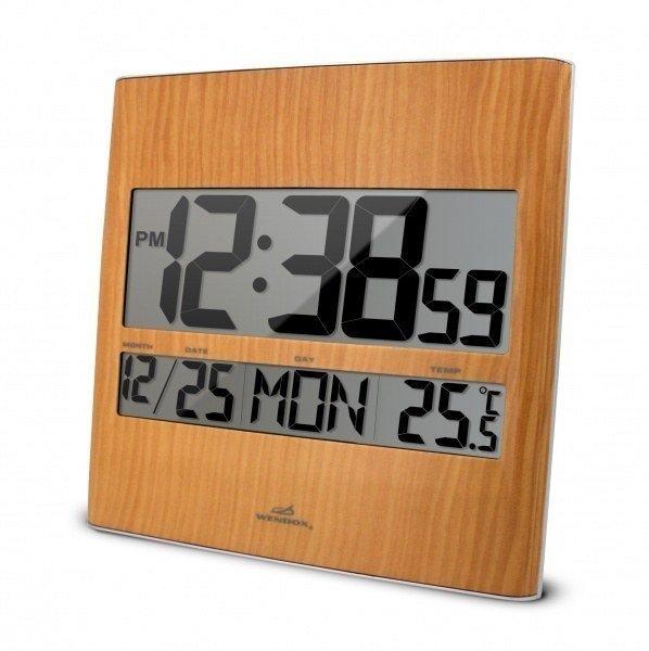 Часы без проекции Wendox WA113Часы без проекции<br>Установив электронные часы Wendox в помещении, Вы получите также дополнительный прибор для измерения окружающей температуры &amp;ndash; модель WA113 имеет встроенный термометр воздуха. Корпус данной модели стилизован под светлое дерево, для удобства отображения информации дисплей разделен на два отдельных экрана &amp;ndash; на большом экране отображается время, малый предназначен для календаря и температуры воздуха. <br>Основные возможности электронных часов Wendox WA113:<br><br>Электронные часы с возможность измерения температуры окружающего воздуха;<br>Стильный дизайн, корпус сделан под светлое дерево;<br>Два цифровых дисплея: первый для отображения часов, второй &amp;ndash; для календаря и температуры воздуха;<br>Высота цифр часов 58 мм;<br>Часы измеряют температуру внутри помещения, и выводят показания в градусах Цельсия или градусах Фаренгейта;<br>Предел измерения температуры составляет +50 С;<br>Формат времени можно изменять;<br>Клавиши для настройки находятся на задней панели прибора;<br>Календарь, будильник;<br>Часы-термометр работают от обычных батареек;<br>Часы вешаются на стену, но быть установлены и на любую горизонтальную поверхность.<br><br><br>Страна: Великобритания<br>Питание, В: Батарейки<br>Тип батарейки: АА<br>Колво батареек: 2<br>Адаптер к 220В: Нет<br>С будильником: Да<br>Радиодатчик: None<br>С метеостанцией: None<br>В помещении t, С: Да<br>За окном t, С: Нет<br>Влажность в помещении: Нет<br>Влажность за окном: Нет<br>Давление: Нет<br>Прогноз погоды: Нет<br>Габариты, мм: 220х40х260<br>Вес, кг: 1<br>Гарантия: 1 год<br>Ширина мм: 40<br>Высота мм: 220<br>Глубина мм: 260