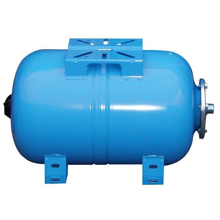 Расширительный бак Wester WAO 100100 литров<br>Wester WAO 100   это надежный расширительный банк с заменяемой мембранной из специальной резины, в обязанности которого входит поддержание рабочего давления в системах водоснабжения, что позволяет избежать несчастных случаев и порчи имущества в следствии гидравлического удара по системе. Модель имеет горизонтальное исполнение и рассчитана на долгую эксплуатацию.<br>Особенности и преимущества мембранных баков Wester серии WAO:<br><br>Мембранные баки рассчитаны на рабочую температуру от +1  С до +100  С;<br>Баки сделаны из прочной высококачественной стали и по всей конструкции рассчитаны на многолетнюю эксплуатацию;<br>Внешняя сторона бака имеет эпоксиполиэфирное покрытие;<br>Мембрана заменяемая, сделана из специальной резины   EPDM;<br>Баки снабжены штуцером G для присоединения к системе водоснабжения, воздушным ниппелем для настройки давления в воздушной полости.<br><br>Семейство мембранных баков WAO представлено разнообразием гидроаккумуляторов, вместительностью от двадцати четырех до ста пятидесяти литров. Задача буферов заключается в стабилизации гидравлического давления в водоснабжающих системах, а также компенсация температурных расширений теплоносителя в отопительных системах. Использование таких баков значительно увеличивает срок службы насоса, уменьшая количества включений и выключений. Также это благоприятно сказывается на всей системе, так как минимизирует последствия гидроудара.<br><br>Страна: Россия<br>Производитель: Россия<br>Объем, л: 100<br>Рабочая темп. С: 100<br>Давление, бар: 1,5<br>Max рабочее давление, бар: 10<br>Покрытие бака: Без покрытия<br>Присоединительный диаметр, мм: 1<br>Габариты ВхШхГ, мм: 517x730x495<br>Вес, кг: 17<br>Гарантия: 1 год<br>Ширина мм: 730<br>Высота мм: 517<br>Глубина мм: 495