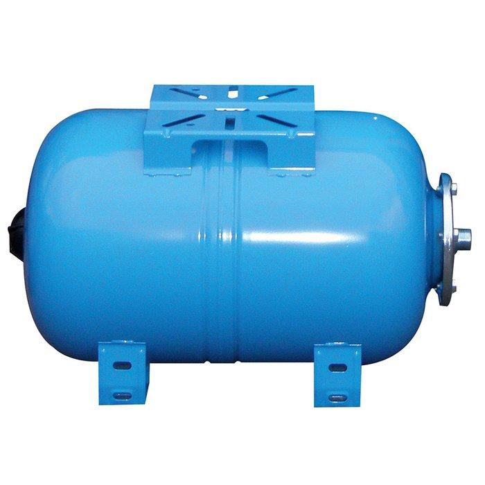 Расширительный бак Wester WAO 5050 литров<br>Расширительный бак с горизонтальной конструкцией Wester WAO 50   это надежное оборудование, которое может стать важным элементом системы водоснабжения по той простой причине, что оно позволяет снизить риск ее разрушения, поддерживая постоянное рабочее давление. Емкость была изготовлена надежной производственной компанией из качественных материалов, проверенных временем.<br>Особенности и преимущества мембранных баков Wester серии WAO:<br><br>Мембранные баки рассчитаны на рабочую температуру от +1  С до +100  С;<br>Баки сделаны из прочной высококачественной стали и по всей конструкции рассчитаны на многолетнюю эксплуатацию;<br>Внешняя сторона бака имеет эпоксиполиэфирное покрытие;<br>Мембрана заменяемая, сделана из специальной резины   EPDM;<br>Баки снабжены штуцером G для присоединения к системе водоснабжения, воздушным ниппелем для настройки давления в воздушной полости.<br><br>Семейство мембранных баков WAO представлено разнообразием гидроаккумуляторов, вместительностью от двадцати четырех до ста пятидесяти литров. Задача буферов заключается в стабилизации гидравлического давления в водоснабжающих системах, а также компенсация температурных расширений теплоносителя в отопительных системах. Использование таких баков значительно увеличивает срок службы насоса, уменьшая количества включений и выключений. Также это благоприятно сказывается на всей системе, так как минимизирует последствия гидроудара.<br><br>Страна: Россия<br>Производитель: Россия<br>Объем, л: 50<br>Рабочая темп. С: 100<br>Давление, бар: 1,5<br>Max рабочее давление, бар: 10<br>Покрытие бака: Без покрытия<br>Присоединительный диаметр, мм: 1<br>Габариты ВхШхГ, мм: 374x572x365<br>Вес, кг: 10<br>Гарантия: 1 год<br>Ширина мм: 572<br>Высота мм: 374<br>Глубина мм: 365