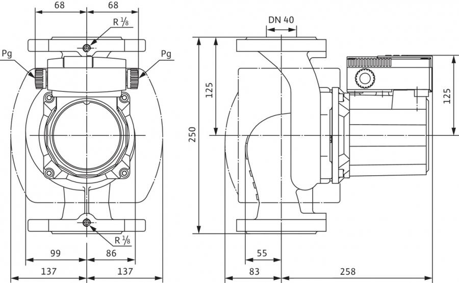 Циркуляционный насос Wilo TOP-S 40/15 EMНасосы для отопления<br>Несмотря на высокую мощность при работе, циркуляционные насосы Wilo (Вило) TOP-S 40/15 EM крайне экономичны в работе, благодаря тому, что насос производит непрерывную циркуляцию воды под определенным давлением, что обеспечивает высокую эффективность теплообменных процессов в системе отопления. Кроме того, экономичности работы так же способствует возможность выбора одного из трех вариантов частоты скорости вращения двигателя.<br>Основные преимущества циркуляционного насоса от немецкого бренда WILO:<br><br>Циркуляционный насос предназначен для перекачивания жидкости в системах отопления.<br>Используются в системах отопления и системах охлаждения/кондиционирования от -20  C до +130  C (TOP-S80/15 и TOP-S80/20 от -20 C до +110 C)<br>Корпус насоса с катафорезным покрытием (KTL) для защиты от коррозии при образовании конденсата.<br>Ручная регулировка мощности с 3 ступенями частоты вращения<br>Несложная установка благодаря комбинированному фланцу PN 6/PN 10 (для DN 40 - DN 65)<br>Настройка ступеней частоты вращения (3 ступени)<br>Световая индикация неисправности (опционально для всех типов насосов с защитным модулем Wilo-С)<br>Режим работы  основной/резервный  (автоматическое переключение насосов по сигналу неисправности/по таймеру): в качестве опции для всех типов насосов с защитным модулем Wilo-С<br>Корпус насоса: Серый чугун<br>Рабочее колесо: Синтетический материал<br>Вал: Нержавеющая сталь<br>Подшипники: металлографит<br>Длительный срок бесперебойной эксплуатации.<br><br>Циркуляционные насосы от немецкой торговой марки WILO   это широкий выбор моделей, которые разработаны специально для использования в системах отопления, холодного или горячего водоснабжения, в бытовых или промышленных системах кондиционирования и системах циркуляции жидкости. Все приборы изготовлены их прочного серого чугуна с катафозным покрытием, что значительно увеличивает срок службы не только насоса, но и систем, в которых они испол