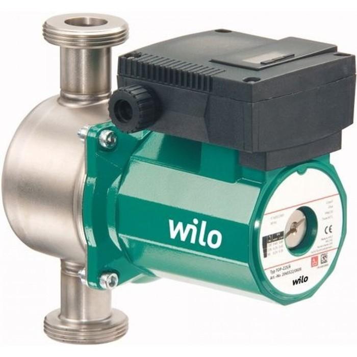 Циркуляционный насос Wilo TOP-Z 25/6 DMНасосы ГВС<br>Циркуляционный насос, оснащенный  мокрым ротором, WILO (Вило) TOP-Z 25/6 DM   это один из самых важных и серьезных элементов в системе отопления или водоснабжения. Устройство требует максимально строгого исполнения инструкций, класс защиты соответствует индексу IP X4D. Максимальное рабочее давление равняется значению в шесть бар. Мотор с переключением частоты вращения.<br>Основные преимущества циркуляционного насоса для систем ГВС от немецкого бренда WILO:<br><br>Ручная регулировка мощности с 3 ступенями частоты вращения<br>Серийно с теплоизоляцией.<br>Несложная установка благодаря комбинированному фланцу PN 6/PN 10 (при DN 40 - DN 65)<br>Возможна двусторонняя подводка кабеля к клеммной коробке (от P2 180 Вт) со встроенным лепестковым зажимом кабеля<br>Класс защиты IP 44<br>Резьбовое- или фланцевое соединение (в зависимости от типа) Rp   до DN 80<br>Макс. рабочее давление при стандартном исполнении: 6/10 бар, 6 или 10 бар (специальное исполнение: 10 бар или 16 бар)<br>Режим работы  основной/резервный  (автоматическое переключение насосов по сигналу неисправности/по таймеру): в качестве опции для всех типов насосов с защитным модулем Wilo-С<br>Корпус насоса: нержавеющая сталь/бронза/серый чугун (в зависимости от типа)<br>Рабочее колесо: Синтетический материал<br>Вал: нержавеющая сталь/керамика (в зависимости от типа)<br>Подшипники: Графит, пропитанный синтетической смолой<br>Длительный срок бесперебойной эксплуатации.<br><br>Для создания современных систем горячего водоснабжения инженеры немецкой компании WILO разработали серию циркуляционных насосов, способствующих стабильной, качественной и бесперебойной работе таких систем. Все модели семейства изготовлены из высокопрочных материалов, имеют поверхностный вариант установки, которая отличается простотой и минимальными затратами времени. Внедрение в конструкции агрегатов инновационной модели двигателей, позволило достичь невероятно скромного потребления электроэнер