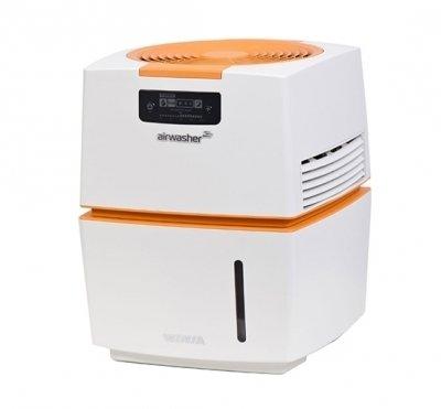 Мойка воздуха Winia AWM-40POCБытовые мойки<br>Мощная и эффективная мойка воздуха AWM-40POC от компании WINIA без труда сможет обеспечить в помещении здоровую атмосферу. Представленная модель способна очистить воздух от пыли и разнообразных аллергенов, болезнетворных микроорганизмов и неприятных запахов. Управление прибором очень простое, а высокое качество исполнение гарантирует долгий срок его эксплуатации. Стоит также отметить, что мойка неприхотлива в уходе.<br>Преимущества представленной модели мойки воздуха:<br><br>Уникальная система дезинфекции с экологически чистыми материалами BSS.<br>BSS (биофильтр с посеребрёнными шариками) - природный материал устраняет различные виды бактерий и вирусов внутри водяного бака (уничтожает до 99,99% вредных бактерий).<br>Индикатор BSS.<br>Индикатор замены фильтра.<br>Индикатор воды.<br>Ионизатор.<br>Ночной режим.<br>Автоматический режим.<br>Три режима работы вентилятора: слабый, средний. сильный.<br>Не требует специфического ухода.<br>Стильный органичный дизайн.<br>Простое интуитивно понятное управление.<br><br> <br>В мойках воздуха серии WINIA AWM принцип работы строится на использовании специального антибактериального фильтра, который имеет металлические шарики с нанесением серебра. Все болезнетворные микроорганизмы, поступающие из воздуха, уничтожаются ионами серебра в водяном баке, а в помещение приборы отдают очищенные безопасный для здоровья человека и животных воздух. Кроме того, интегрированный ионизатор усиливает действие увлажнителя: воздух насыщается отрицательно заряженными ионами, благоприятное воздействие которых давно известно. И хотя приборы весьма производительны, воды в баке хватает на долгое время работы. С мойками воздуха WINIA AWM ваш дом или офис наполнится свежим и чистым воздухом, а влажность в помещении всегда будет на нужном уровне!<br><br>Страна: Корея<br>Производитель: Корея<br>S увлажнения, м?: 50<br>S очистки, м?: 50<br>Воздухообмен мsup3;: 150<br>Колво режимов работы: None<br>Обьем бака, л: 9<br