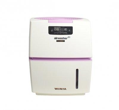 Бытовая мойка воздуха WiniaБытовые мойки<br>WINIA AWM-40PVC   это удобная и производительная мойка воздуха, которая весьма успешно справляется со своей задачей. Из достоинств стоит отметить низкий уровень шума, эффективность в очистке и увлажнении воздуха, простое управление, а также отсутствие требования в специфичном уходе. Прибор максимально комфортен и безопасен в использовании и сможет создать чистый и здоровый микроклимат в обслуживаемом помещении.<br>Преимущества представленной модели мойки воздуха:<br><br>Уникальная система дезинфекции с экологически чистыми материалами BSS.<br>BSS (биофильтр с посеребрёнными шариками) - природный материал устраняет различные виды бактерий и вирусов внутри водяного бака (уничтожает до 99,99% вредных бактерий).<br>Индикатор BSS.<br>Индикатор замены фильтра.<br>Индикатор воды.<br>Ионизатор.<br>Ночной режим.<br>Автоматический режим.<br>Три режима работы вентилятора: слабый, средний. сильный.<br>Не требует специфического ухода.<br>Стильный органичный дизайн.<br>Простое интуитивно понятное управление.<br><br> <br>В мойках воздуха серии WINIA AWM принцип работы строится на использовании специального антибактериального фильтра, который имеет металлические шарики с нанесением серебра. Все болезнетворные микроорганизмы, поступающие из воздуха, уничтожаются ионами серебра в водяном баке, а в помещение приборы отдают очищенные безопасный для здоровья человека и животных воздух. Кроме того, интегрированный ионизатор усиливает действие увлажнителя: воздух насыщается отрицательно заряженными ионами, благоприятное воздействие которых давно известно. И хотя приборы весьма производительны, воды в баке хватает на долгое время работы. С мойками воздуха WINIA AWM ваш дом или офис наполнится свежим и чистым воздухом, а влажность в помещении всегда будет на нужном уровне!<br><br>Страна: Корея<br>Производитель: Корея<br>S увлажнения, м?: None<br>S очистки, м?: 50<br>Воздухообмен мsup3;: None<br>Колво режимов работы: None<br>Обьем бака, л: 9<br>Рас