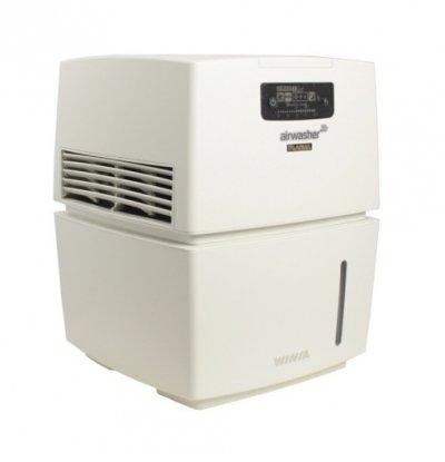 Мойка воздуха Winia AWM-40PWCБытовые мойки<br>Мойка воздуха WINIA AWM-40PWC   это мощный и экологичный прибор. Который обеспечит эффективную очистку и увлажнение воздуха в помещениях различного назначения. Представленная модель очистит воздух от пыли, шерсти животных, неприятных запахов, а также вирусов и бактерий. Благодаря естественному увлажнению в обслуживаемом помещении создастся не только чистый, но и здоровый микроклимат, что особенно актуально для детей, аллергиков и астматиков, а также для помещений, где собирается большое количество людей.<br>Преимущества представленной модели мойки воздуха:<br><br>Уникальная система дезинфекции с экологически чистыми материалами BSS.<br>BSS (биофильтр с посеребрёнными шариками) - природный материал устраняет различные виды бактерий и вирусов внутри водяного бака (уничтожает до 99,99% вредных бактерий).<br>Индикатор BSS.<br>Индикатор замены фильтра.<br>Индикатор воды.<br>Ионизатор.<br>Ночной режим.<br>Автоматический режим.<br>Три режима работы вентилятора: слабый, средний. сильный.<br>Не требует специфического ухода.<br>Стильный органичный дизайн.<br>Простое интуитивно понятное управление.<br><br> <br>В мойках воздуха серии WINIA AWM принцип работы строится на использовании специального антибактериального фильтра, который имеет металлические шарики с нанесением серебра. Все болезнетворные микроорганизмы, поступающие из воздуха, уничтожаются ионами серебра в водяном баке, а в помещение приборы отдают очищенные безопасный для здоровья человека и животных воздух. Кроме того, интегрированный ионизатор усиливает действие увлажнителя: воздух насыщается отрицательно заряженными ионами, благоприятное воздействие которых давно известно. И хотя приборы весьма производительны, воды в баке хватает на долгое время работы. С мойками воздуха WINIA AWM ваш дом или офис наполнится свежим и чистым воздухом, а влажность в помещении всегда будет на нужном уровне!<br><br>Страна: Корея<br>Производитель: Корея<br>S увлажнения, м?: None<br>S очис