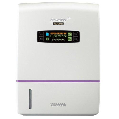 Мойка воздуха Winia AWX-70PTVCDБытовые мойки<br>Достойное решение проблемы очищения и увлажнения воздуха в помещениях различного назначения   мойка воздуха Winia MAXIMUM AWX-70PTVCD, которая сочетает в себе функции увлажнителя и очистителя. Теперь вы сможете дышать полной грудью качественным воздухом, лишенным всевозможных загрязнений и аллергенов. Прибор отличается компактными размерами и простым дизайнерским решением.<br>Основные достоинства рассматриваемой модели бытовой мойки воздуха Winia:<br><br>Автоматическое поддержание влажности.<br>Встроенный плазменный ионизатор воздуха (отключаемый).<br>Фильтр предварительной очистки и HEPA-фильтр.<br>Уникальная технология очистки путем естественного промывания воздуха.<br>Отсутствие сменных фильтров, не требуется расходных материалов.<br>38 рабочих дисков.<br>Антибактериальное покрытие рабочих дисков.<br>Сенсорный дисплей. Уникальный и элегантный дизайн.<br>Простое обслуживание и уход.<br>Высококачественные компоненты и материалы.<br>Наличие ночного режима.<br>Ионизирующий серебряный стержень Bio-Silver Stone (BSS).<br>Автоматическое отключение при недостаточном уровне воды.<br>Антибактериальное покрытие рабочих дисков.<br><br>Бытовые мойки воздуха от компании Winia подарят вам замечательные климатические условия и здоровую атмосферу в помещении. Каждая модель обладает целым рядом преимуществ, которые значительно упростят управление и будут гарантировать вам приятную и комфортную эксплуатацию. Все оборудование имеет надежное исполнение из качественных материалов, проверенных временем. Мойки позволяют не только увлажнять, но и фильтровать воздух. <br><br>Страна: Корея<br>Производитель: Корея<br>S увлажнения, м?: 50<br>S очистки, м?: 50<br>Воздухообмен мsup3;: 260<br>Колво режимов работы: 5<br>Обьем бака, л: 9<br>Расход воды, мл./ч: 700<br>Уровень шума, дБа: None<br>Мощность, Вт: 24<br>Питание, В: 220 В<br>Гигростат: Да<br>Гигрометр: Да<br>Габариты ВхШхГ, см: 39x31.5x31<br>Вес, кг: 10<br>Гарантия: 1 год<br>Ширина мм: 315<