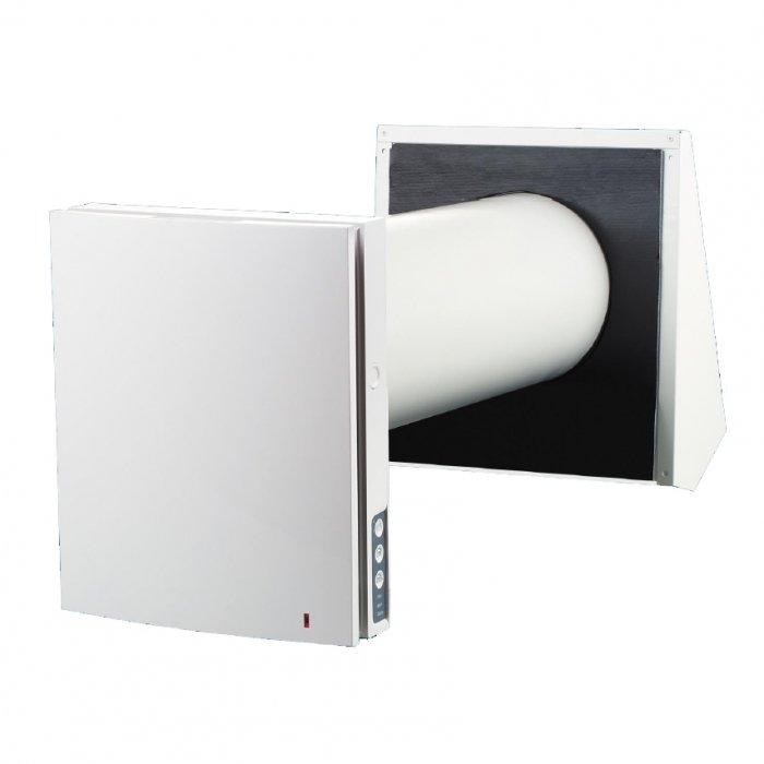 Вентиляционная установка Winzel Expert WiFi RW1-50 PПроветриватели<br><br><br>Страна: Германия<br>Производитель: Украина<br>Поток воздуха мsup3; ч: 50<br>Рекуператор: Керамический аккумулятор<br>Пульт ДУ: Есть<br>Мощность нагревателя, кВт: None<br>Фильтр: G3/F8<br>Таймер: Нет<br>WiFi: Да<br>Max мощность, кВт: 0,00520<br>Питание, В: 220 В<br>Уровень шума, дБ: 30<br>Темп. эксплуатации, С: 30...+50<br>Класс защиты: IP24<br>Диаметр отверстия: 160<br>Габариты ВхШхГ, мм: 300x500x280<br>Вес, кг: 1<br>Гарантия: 5 лет<br>Ширина мм: 500<br>Высота мм: 300<br>Глубина мм: 280