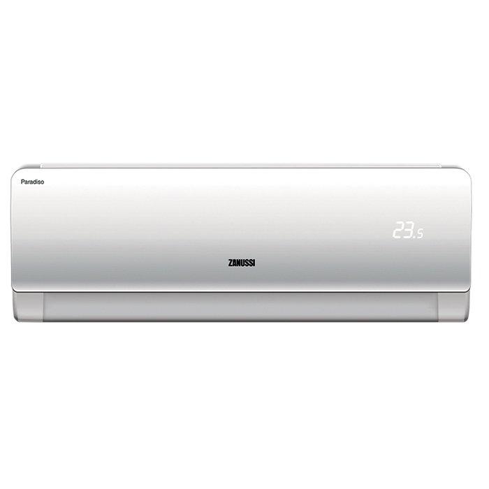 Настенный кондиционер Zanussi ZACS-18 HPR/A17/N125 м? - 2.6 кВт<br>Бытовой настенный кондиционер от производственной компании Zanussi (Занусси) ZACS-18 HPR/A17/N1 оснащен фильтром тонкой очистки и ионизатором воздуха, которые позволяют нейтрализовать вредные химические соединения и удалить мелкие частички пыли. Предусмотрена функция теплого пуска, благодаря которой при режиме обогрева распространяется сразу теплый воздух.<br>Особенности и преимущества настенных кондиционеров Zanussi серии Paradiso 2017:<br><br>Класс энергосбережения &amp;laquo;А&amp;raquo;<br>Специальный тихий режим &amp;laquo;Silence&amp;raquo;<br>Ионизатор(отключается с помощью пульта ДУ)<br>Вывод дренажа в 2 стороны<br>Автоматические вертикальные и горизонтальные жалюзи<br>Функция предварительного нагрева &amp;laquo;HotStart&amp;raquo;<br>Дополнительная шумоизоляция внешнего блока<br>HD-фильтр высокой плотности<br>Функция &amp;laquo;FollowMe&amp;raquo;<br>Высококачественный пластик (не изменяет цвет под воздействием ультрафиолета)<br>Функция оттаивания &amp;laquo;Defrost&amp;raquo;<br>Режим предварительного нагрева &amp;laquo;Hotstart&amp;raquo;<br>Режимы &amp;laquo;Auto&amp;raquo;, &amp;laquo;Sleep&amp;raquo; и &amp;laquo;Turbo&amp;raquo;<br>Самодиагностика<br>Авторестарт<br>Антибактериальный фильтр<br><br>Сплит-системы&amp;nbsp;из новой линейки Paradiso 2017 &amp;mdash; это усовершенствованная линейка бытовых кондиционеров настенного типа от компании Zanussi. Приборы стали обладателями множества полезных функций, которые делают их эксплуатацию максимально комфортной. Стильный дизайн внутреннего блока станет прекрасным дополнением современных интерьерных решений. А его компактные размеры легко разместятся в любой комнате.&amp;nbsp;<br><br>Уровень шума, дБа: 50<br>Страна бренда: Италия<br>Горизонтальная регулировка потока: Нет<br>Габариты ВхШхГ, см: 53,5x80,2x29,8<br>Производитель: Китай<br>Компрессор: Не инвертор<br>Вес, кг: 38<br>Площадь, м?: 50<br>Уровень шума, дБа: 24<br>Режим работы: холод/т